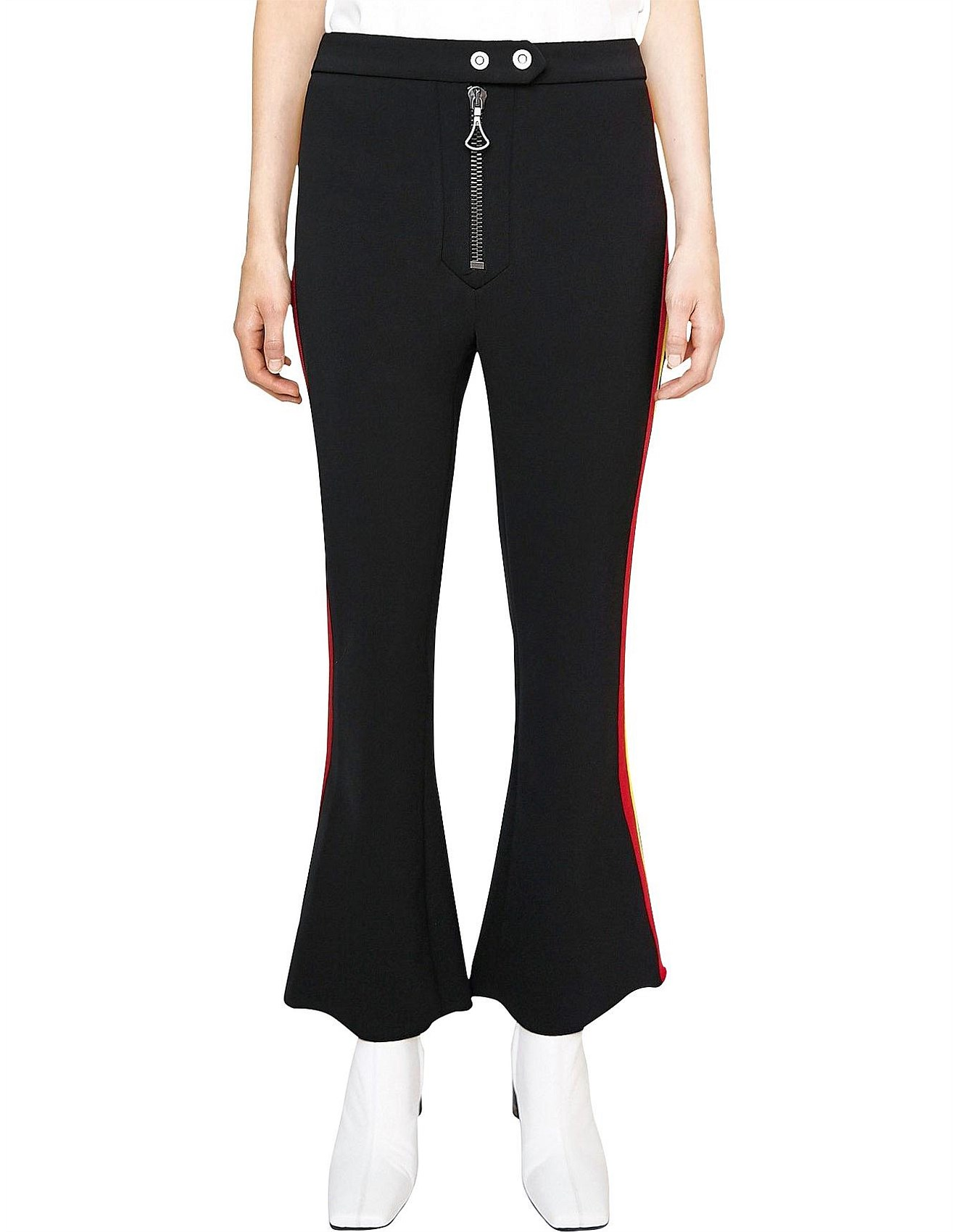 8feb7e6bc5 Women's Pants & Shorts | Women's Clothing Online | David Jones - Rivera  Cropped Biker Flare With Tape