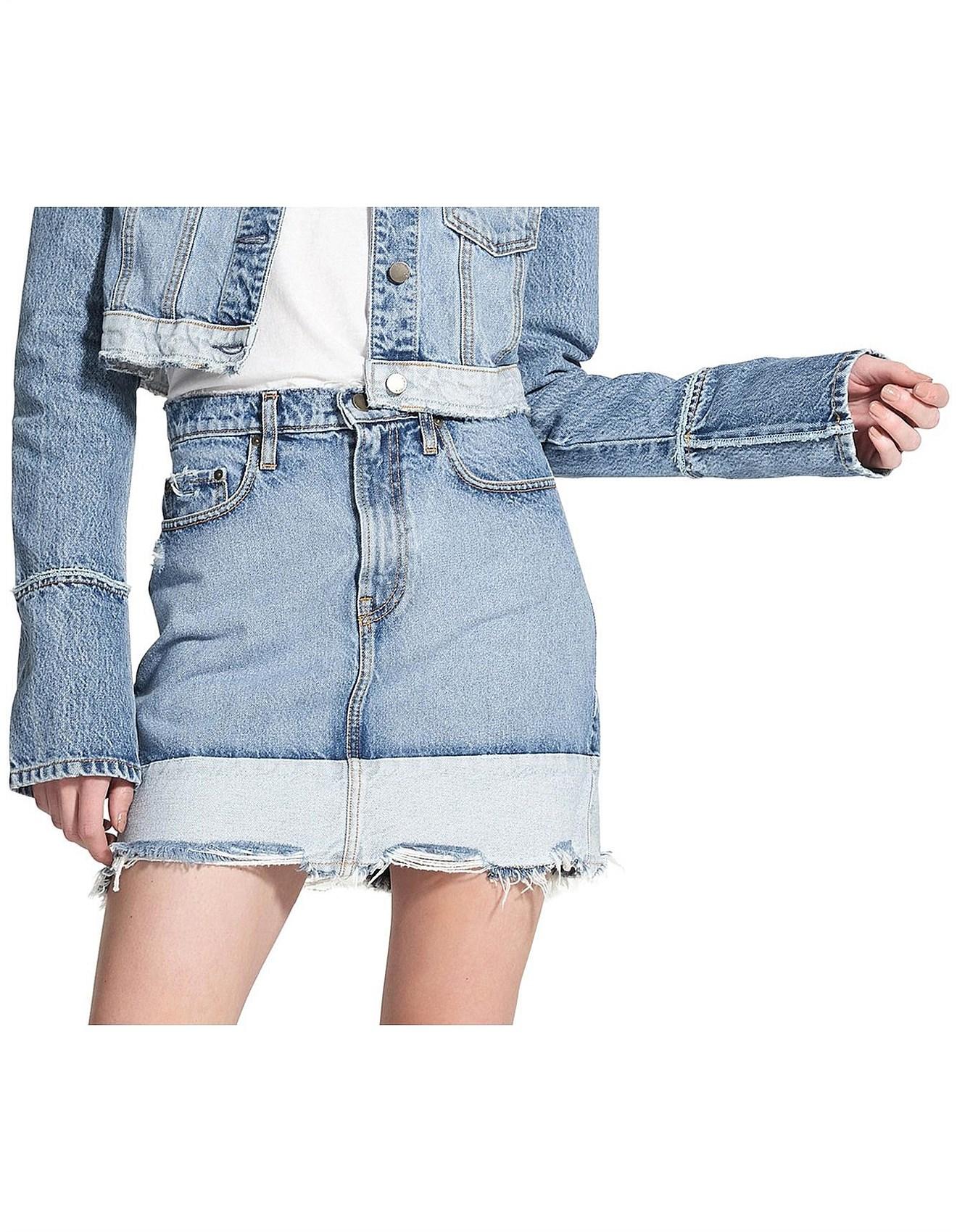 a6faa0f5d9 Nobody Denim | Buy Nobody Denim Online | David Jones - Reverse Skirt