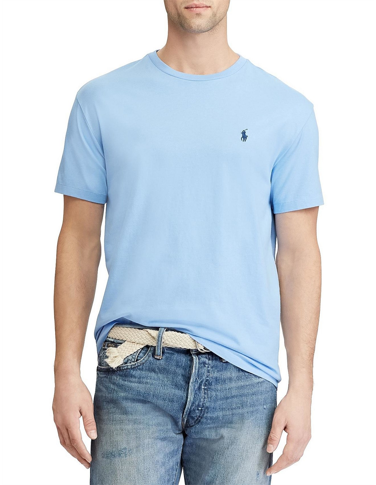 afcca7a17 Mens Custom Slim Fit Cotton T-Shirt. 1  2  3  4. Zoom. Polo Ralph Lauren