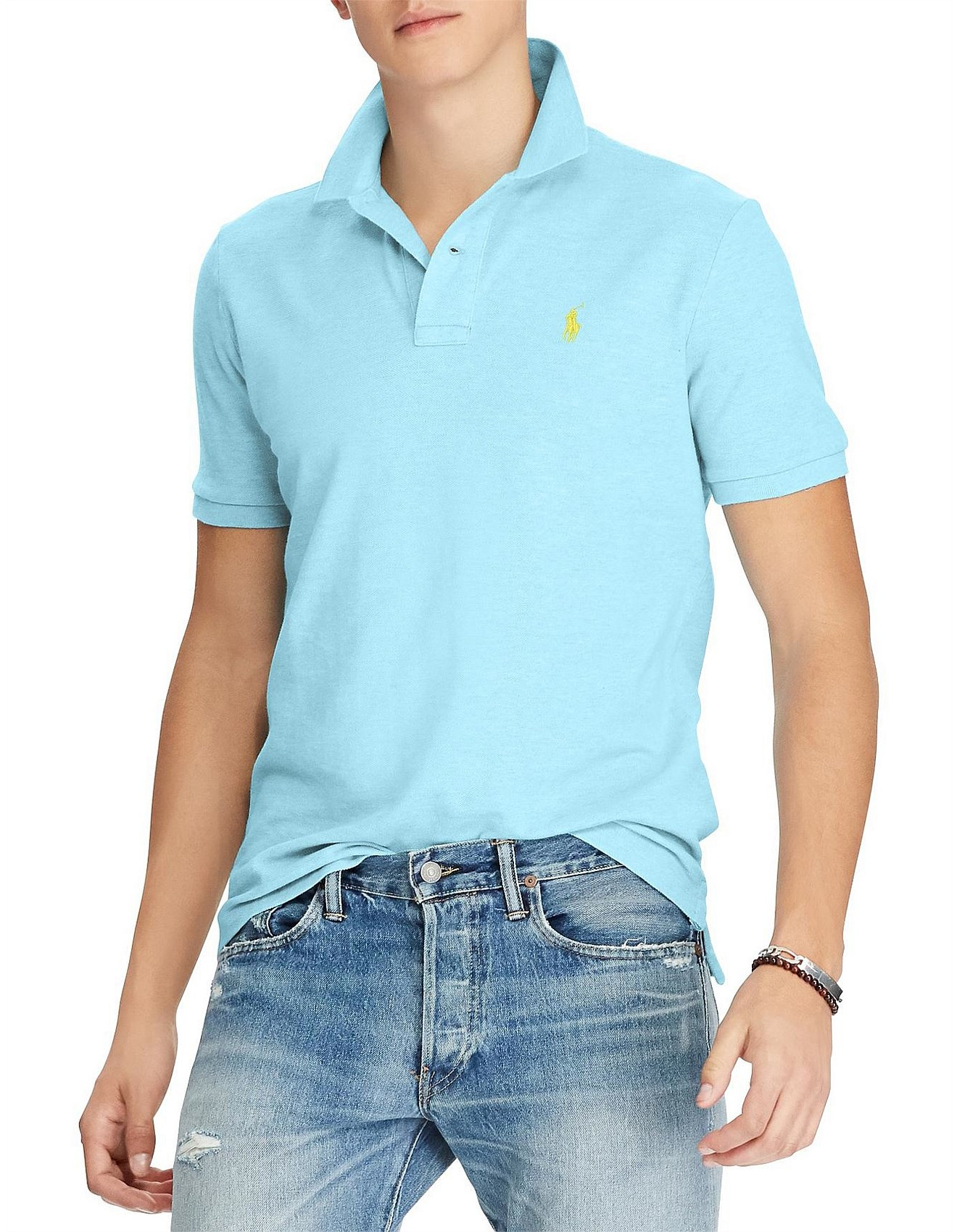 7e2f861d272 Men - Mens Custom Slim Fit Mesh Polo
