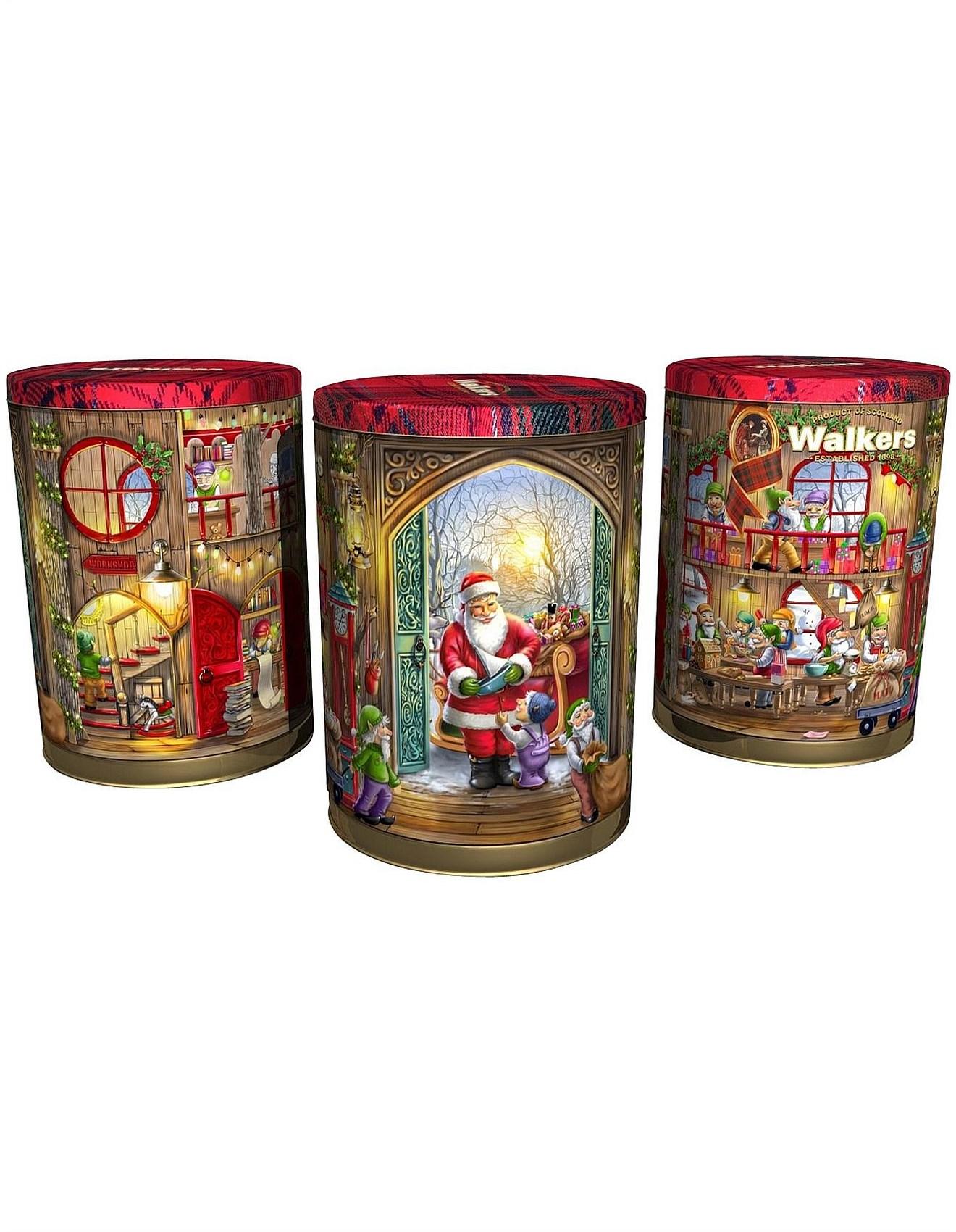 Mini Shortbread Rounds Musical Christmas Tin 200g