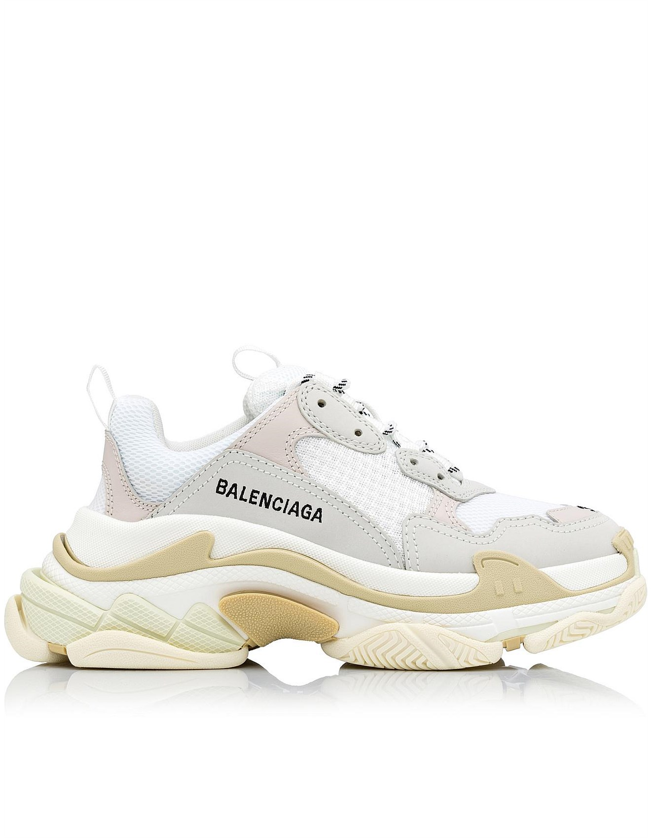 Balenciaga triple s clear sole trainers YouTube