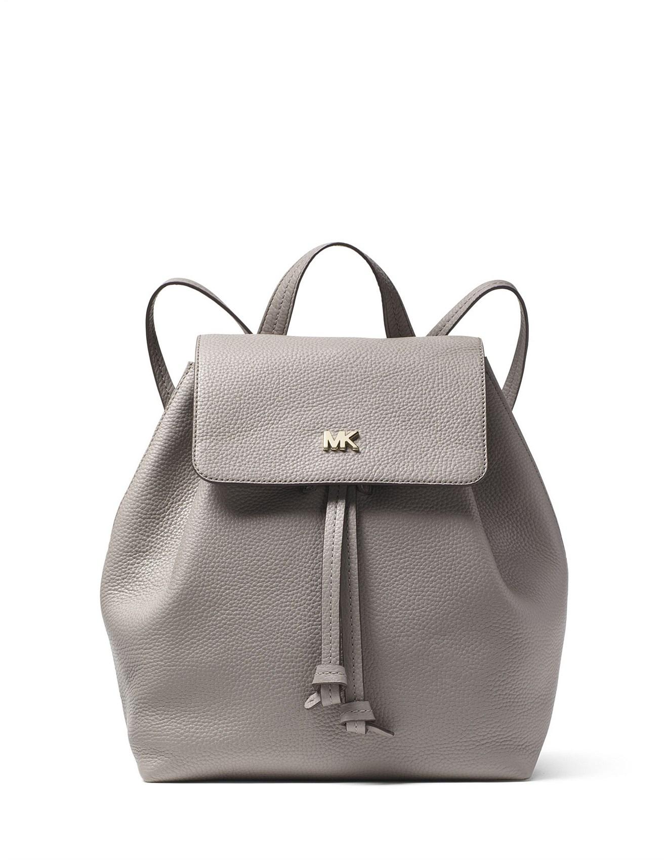 d071a863cd2a Women - Junie Medium Pebbled Leather Backpack