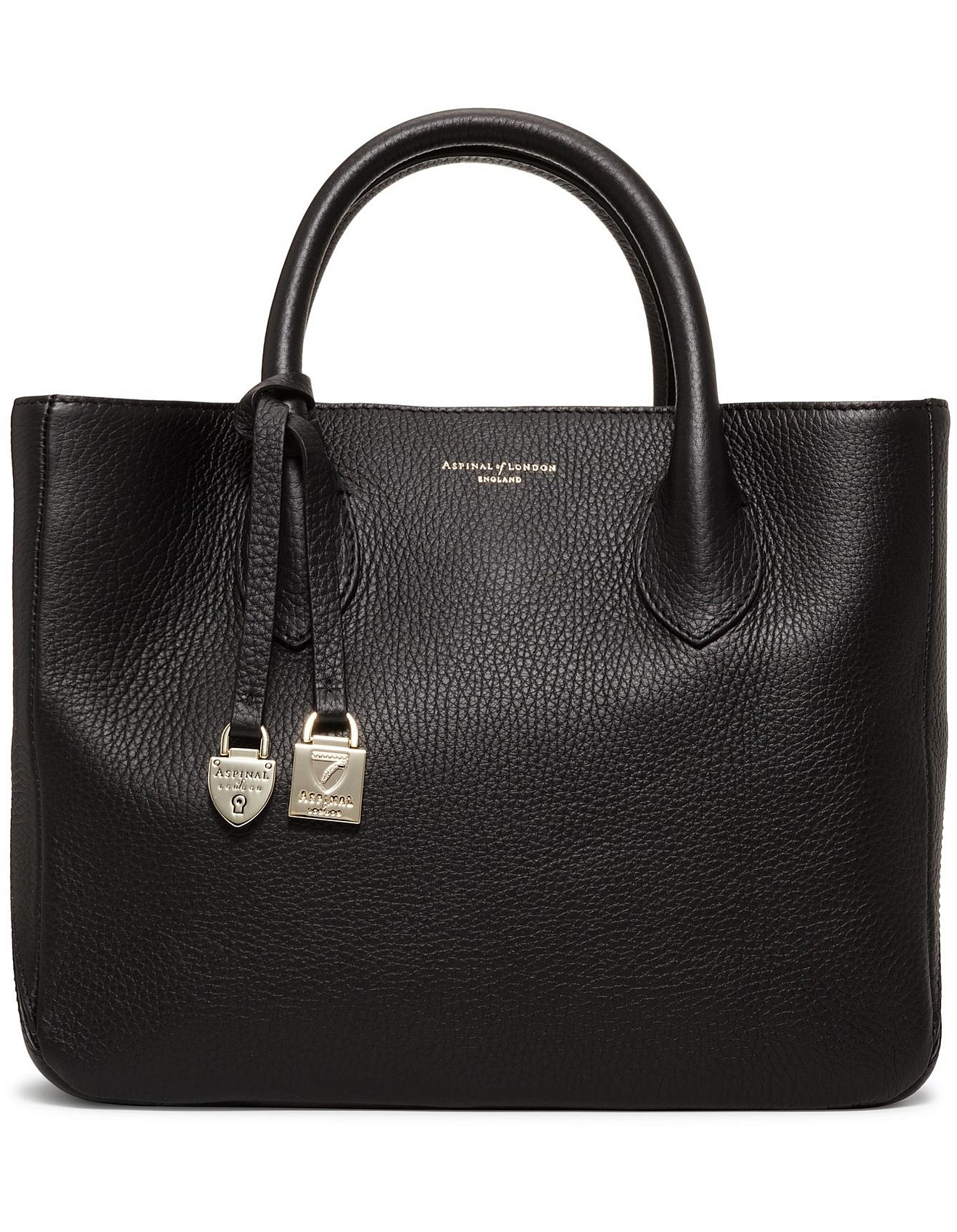 Small London Leather Tote