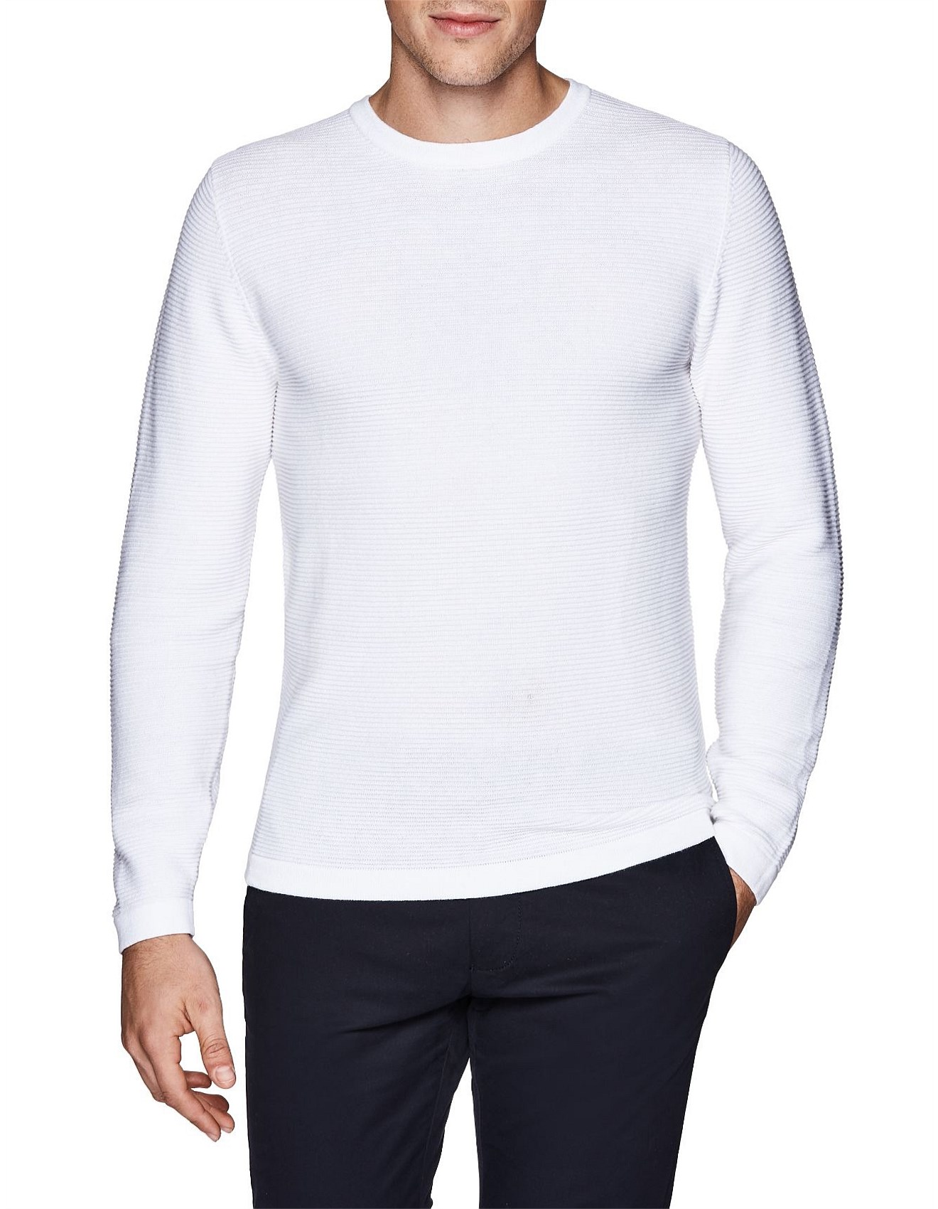 1fab5bc3e Men's Knitwear | Knits, Cardigans & Sweaters | David Jones - Apollo ...