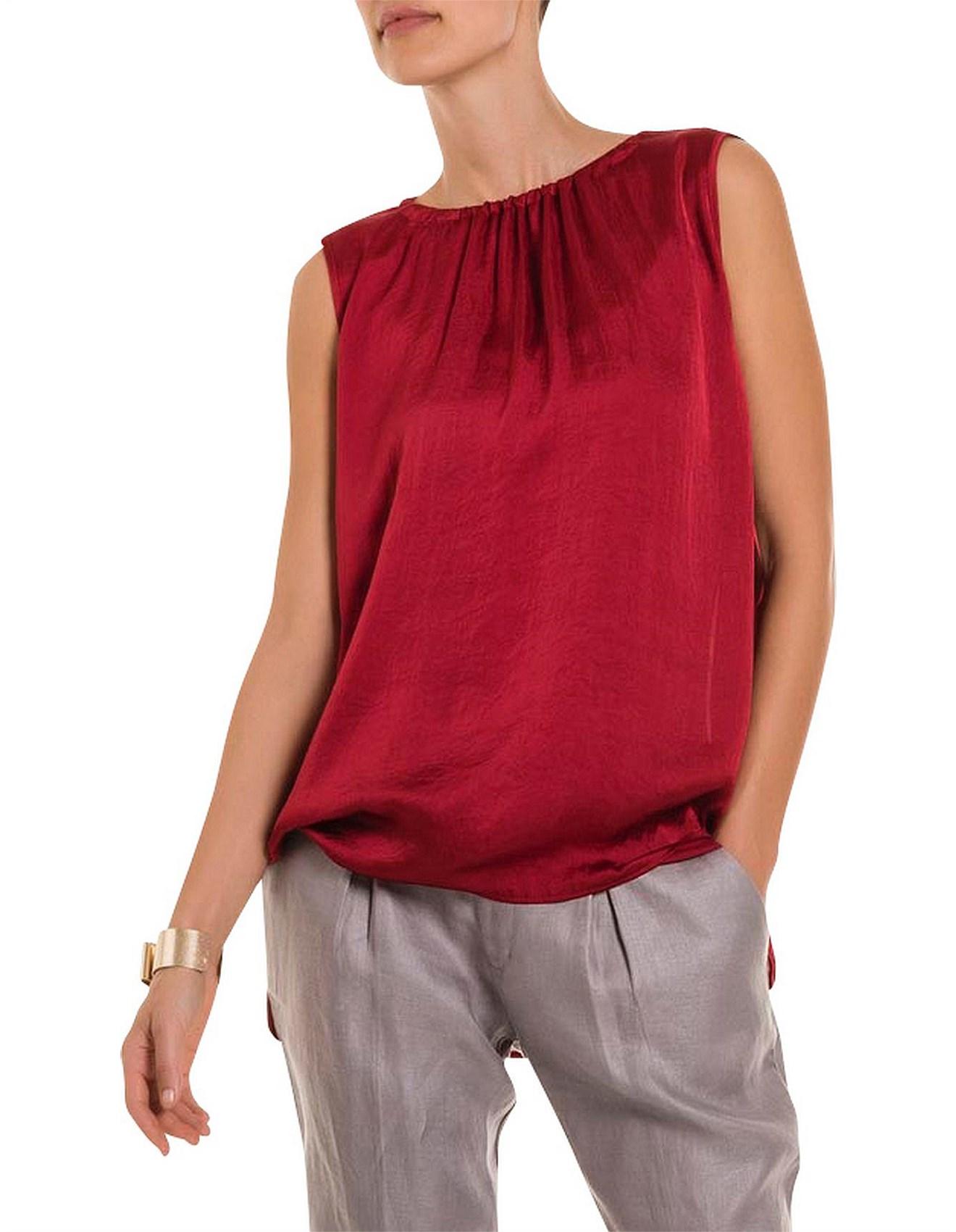 8ccb3318e7568 Women tops tanks shirts sweatshirts david jones jpg 1320x1700 Red satin tops