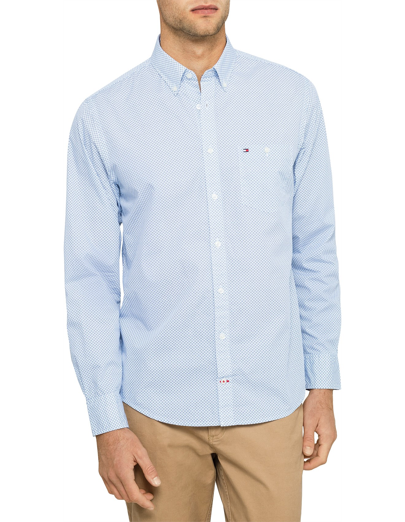 578491d2 Men's Casual Shirts | Buy Casual Shirts Online | David Jones - NAVAJO GEO  PRINTED SHIRT