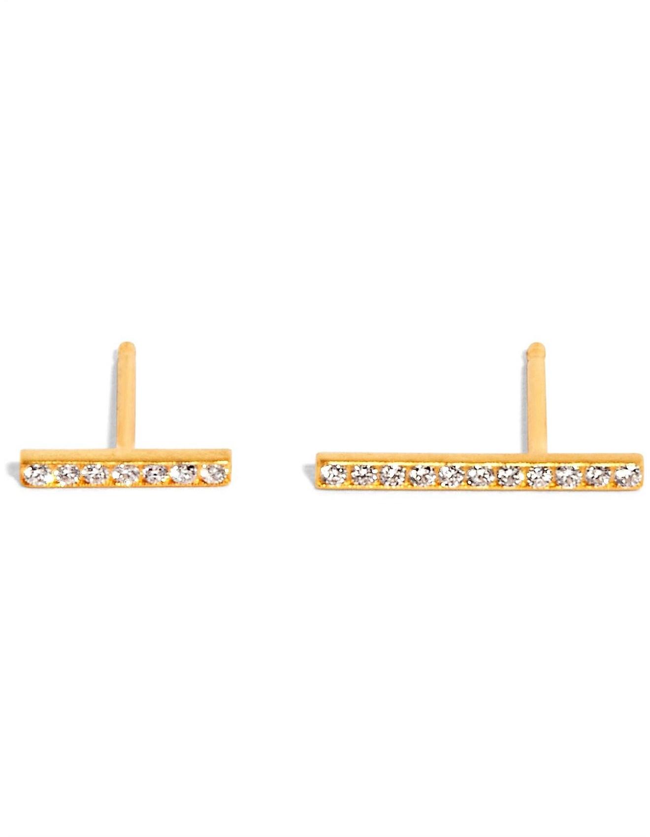 63226aab898 Glitter Line Earrings