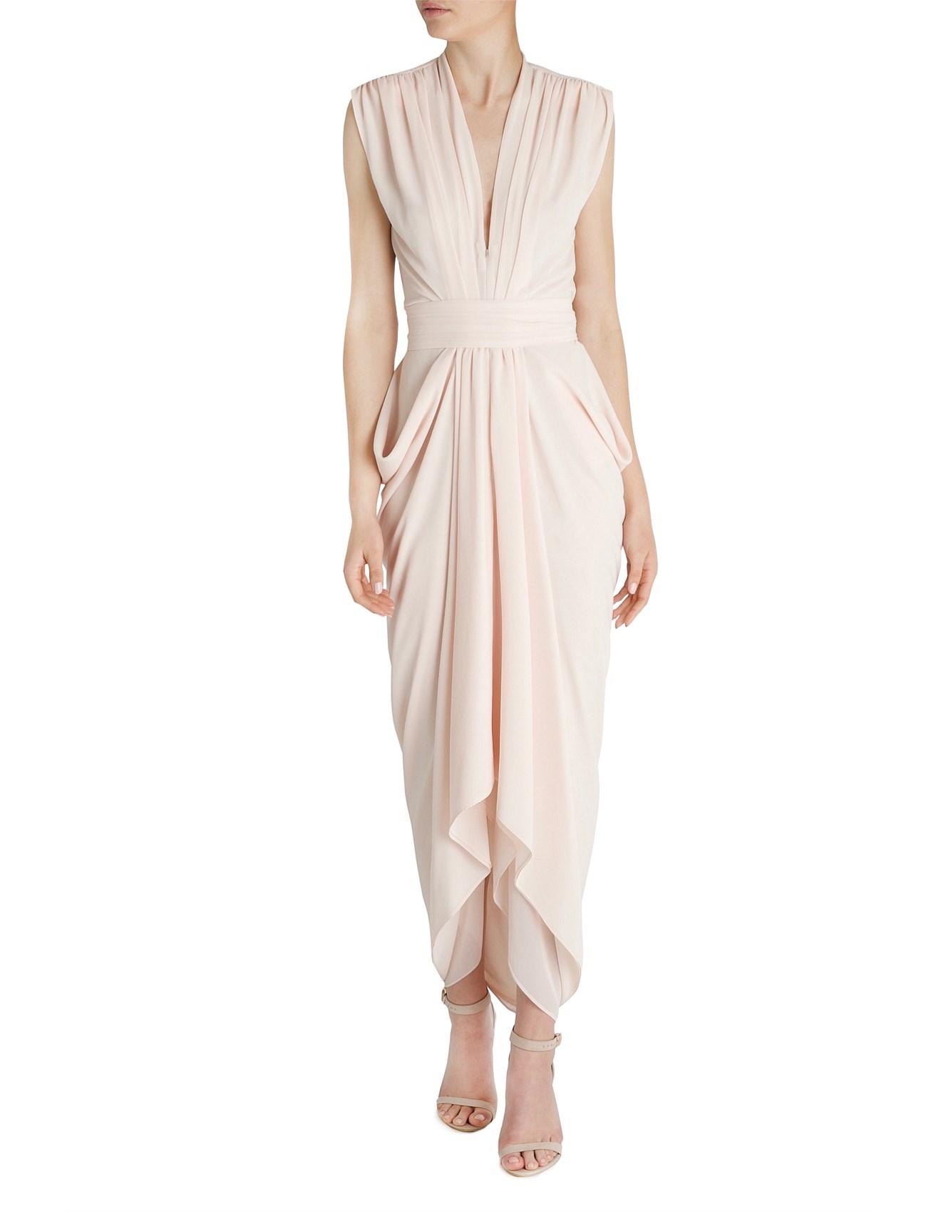Shop The Runway Women - DIAPHANOUS WATERFALL DRESS