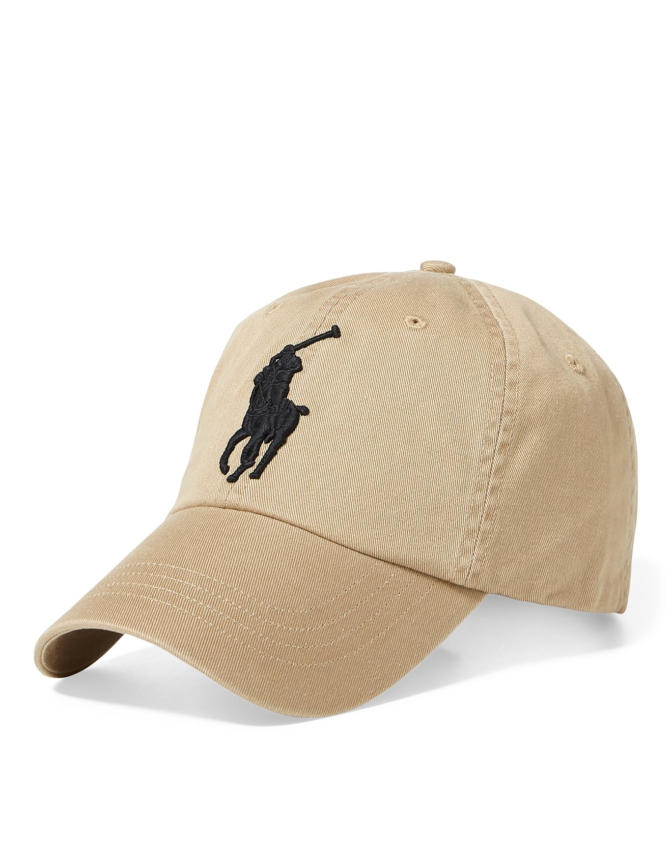 1bcd64fdf Mens Big Pony Chino Baseball Cap