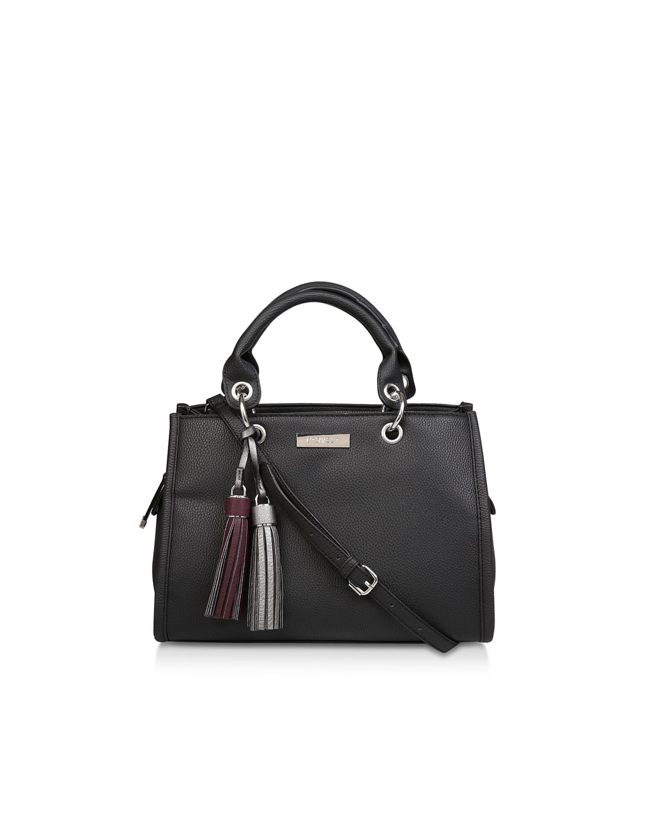 1611145d94b CARVELA-SIENNA SLOUCH BAG-BLACK