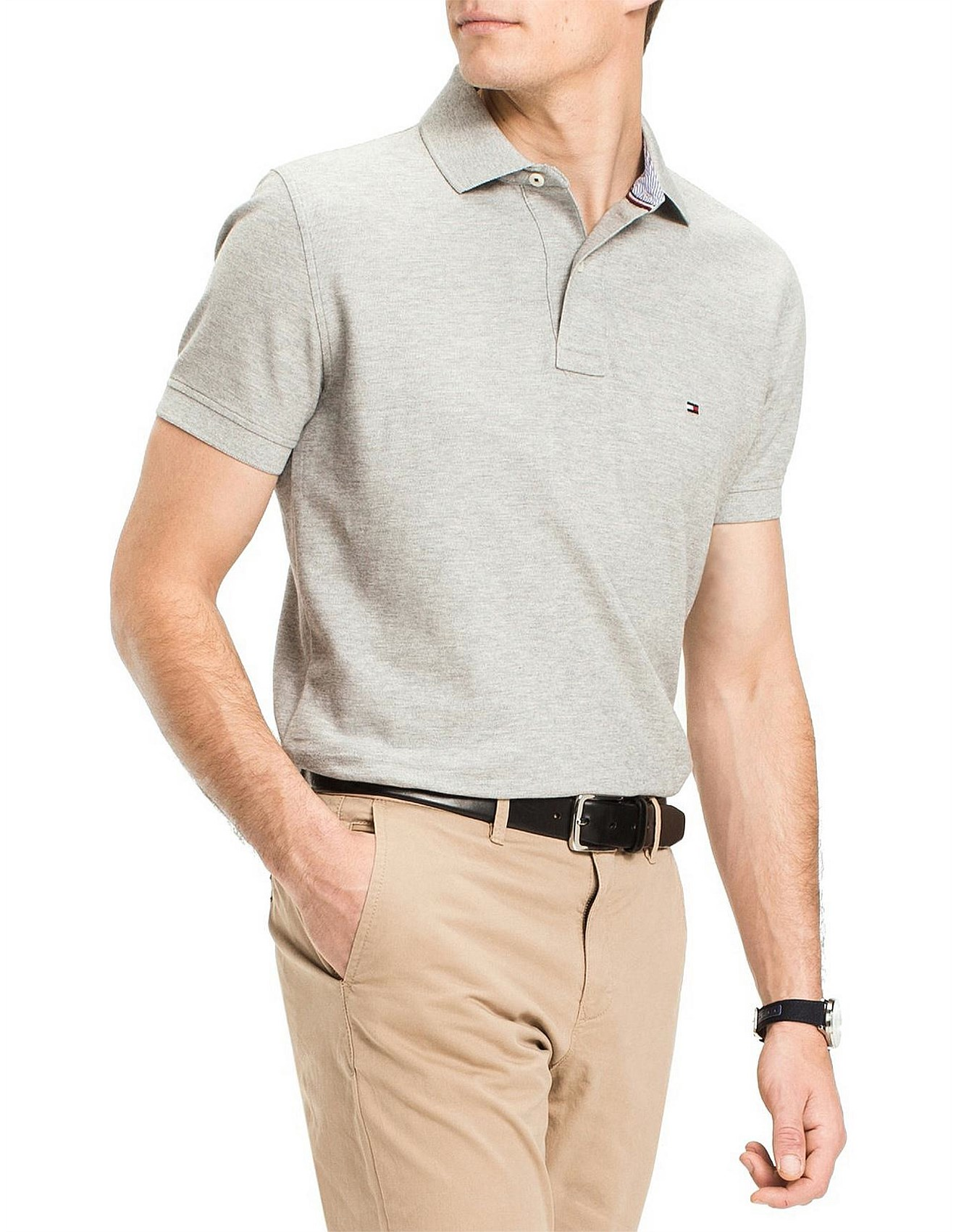 5b184593c21 Men - CORE HILFIGER REGULAR POLO