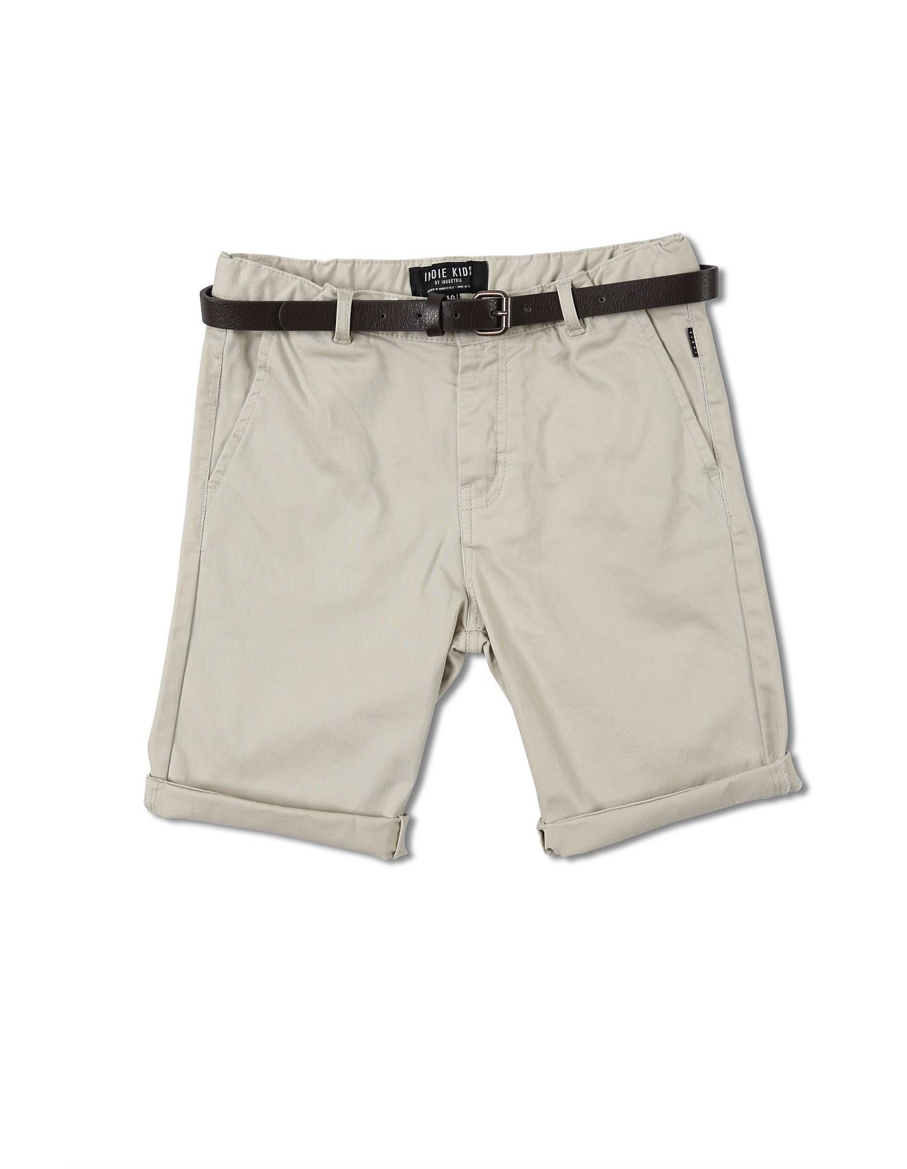 b1f09975e281 Cuba Chino Short (Boys 8-14 Years)