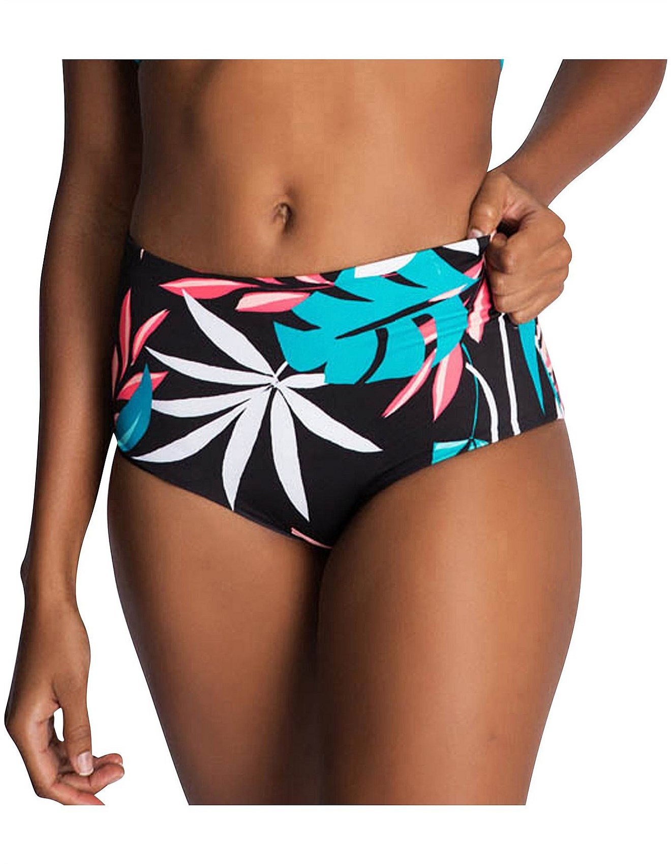 4256f3f86d Swimwear & Bikinis - Dark Tropics Boyleg Bikini Pant