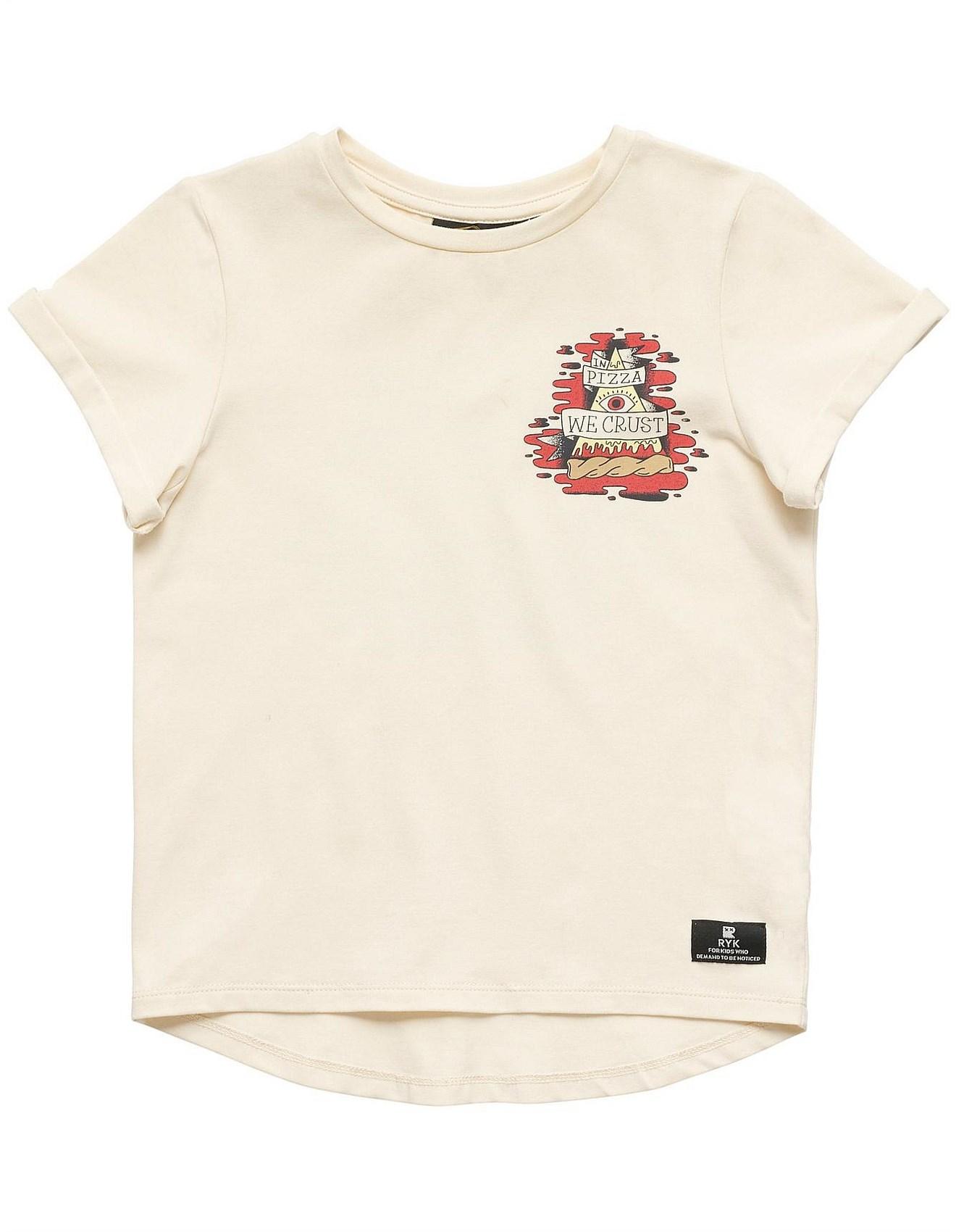 b4c1e2abd Rock Your Kid - In Pizza We Crust S/S T-Shirt (Boys 3-8 Years)