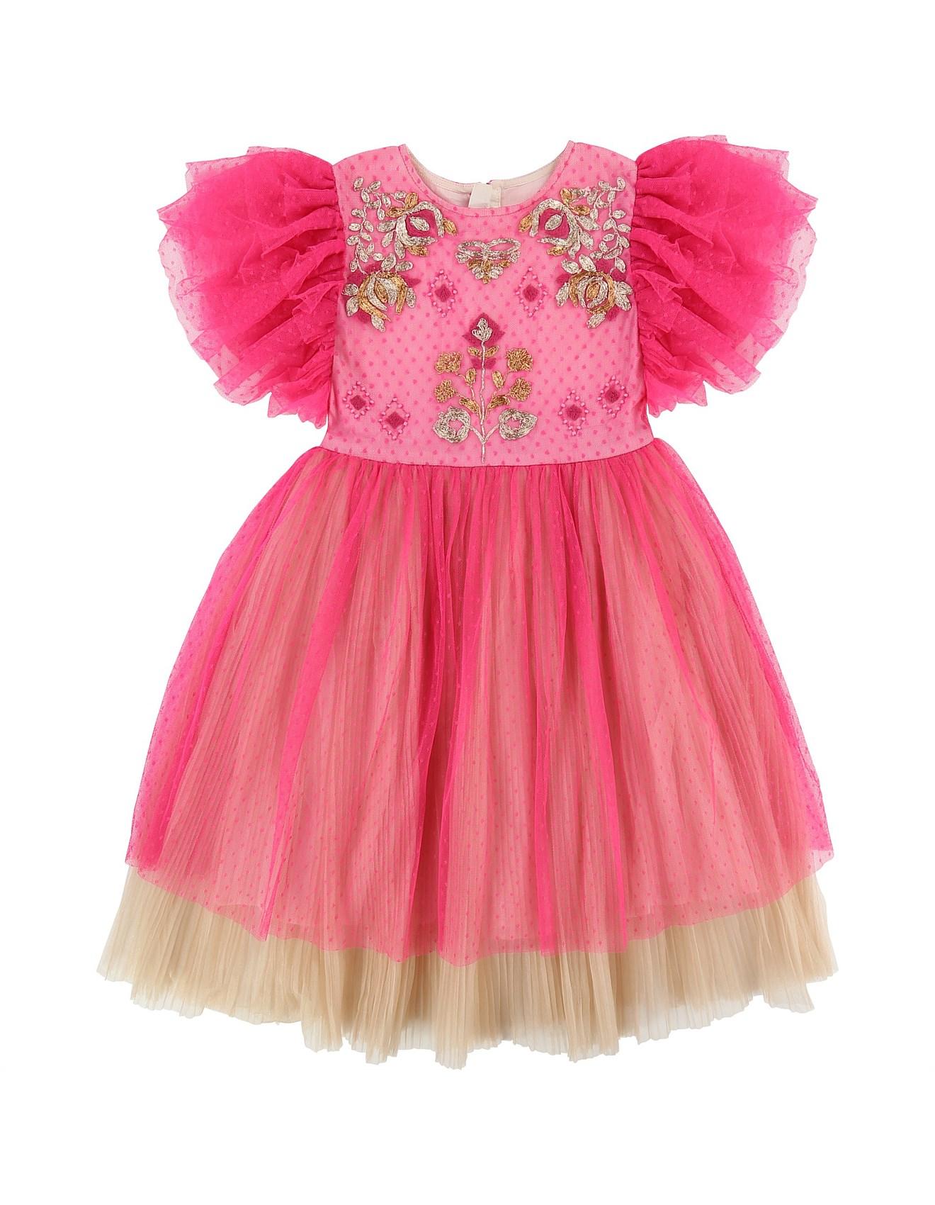 Capsule Rasberry Dress(3-6 Years