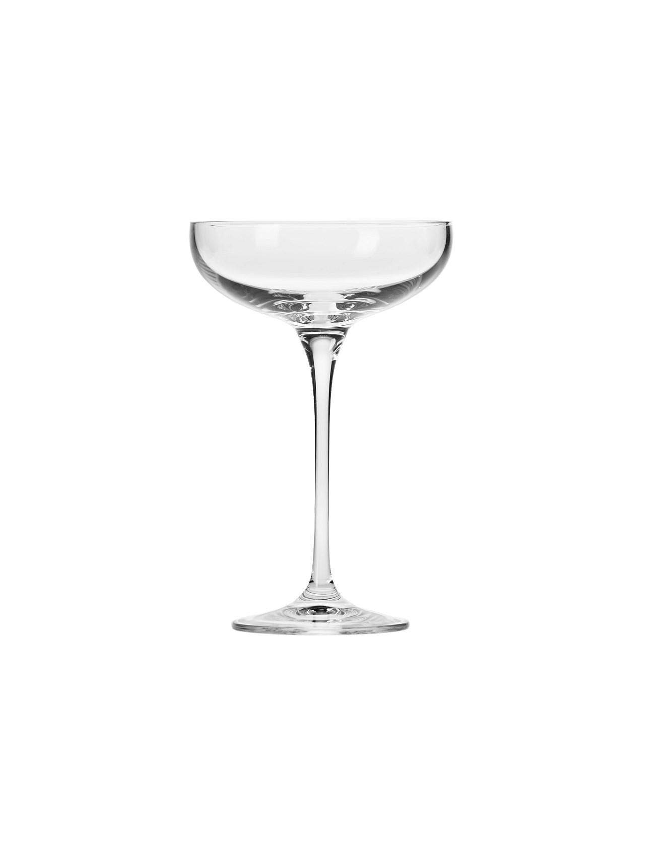 Krosno Buy Krosno Glasses Vases More David Jones Harmony Champagne Coupe Set Of 6