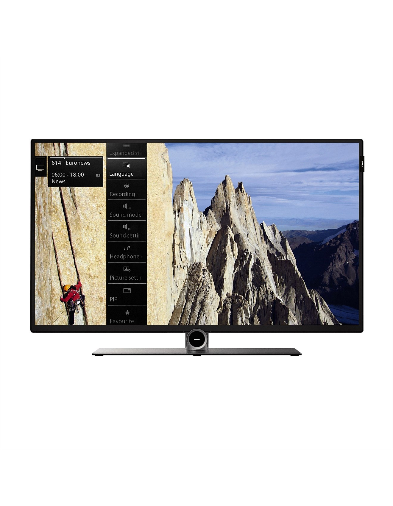 40 50 inch loewe bild fhd led smart tv with usb record. Black Bedroom Furniture Sets. Home Design Ideas