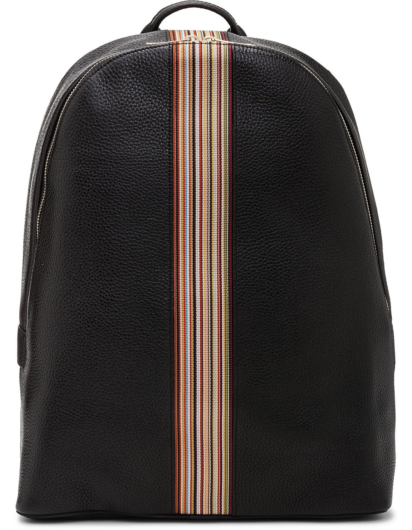 e7d6a0c559 MULTISTRIPE GROUP LEATHER BACKPACK