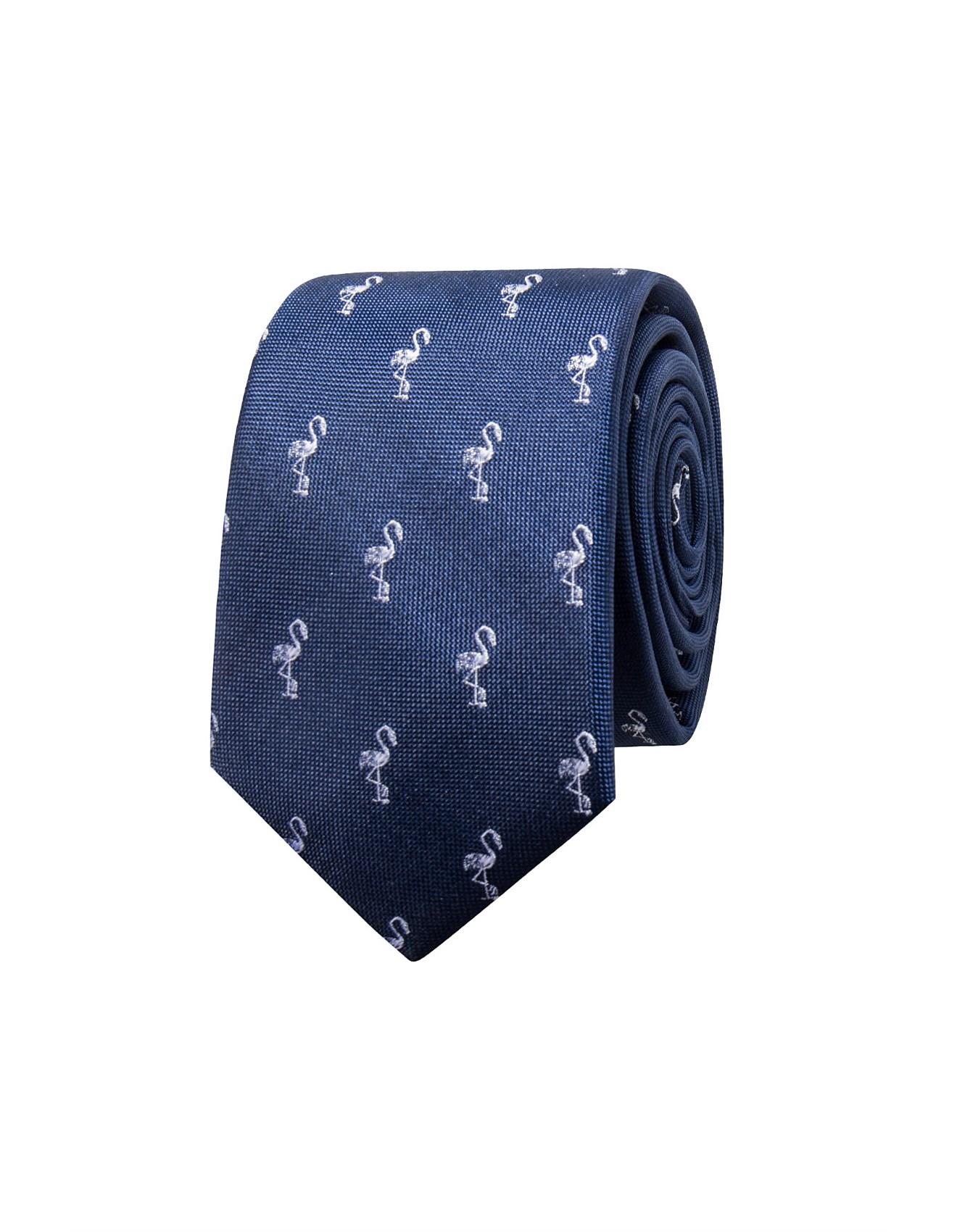 ff2365fe17ae4 Ties & Pocket Squares Sale | Men's Suiting Accessories | David Jones -  FLAMINGO TIE