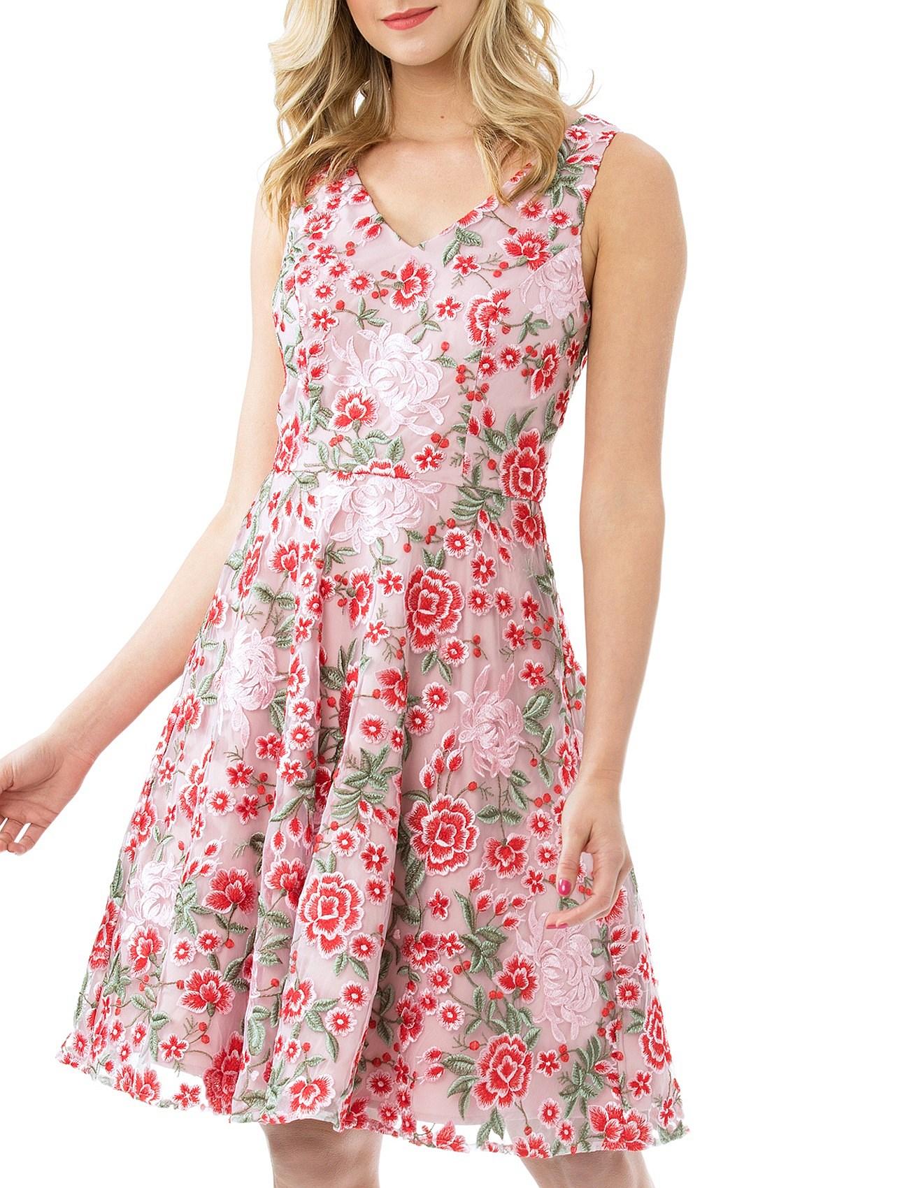 Designer Women S Clothes Fashion Online David Jones Wild Flower Dress