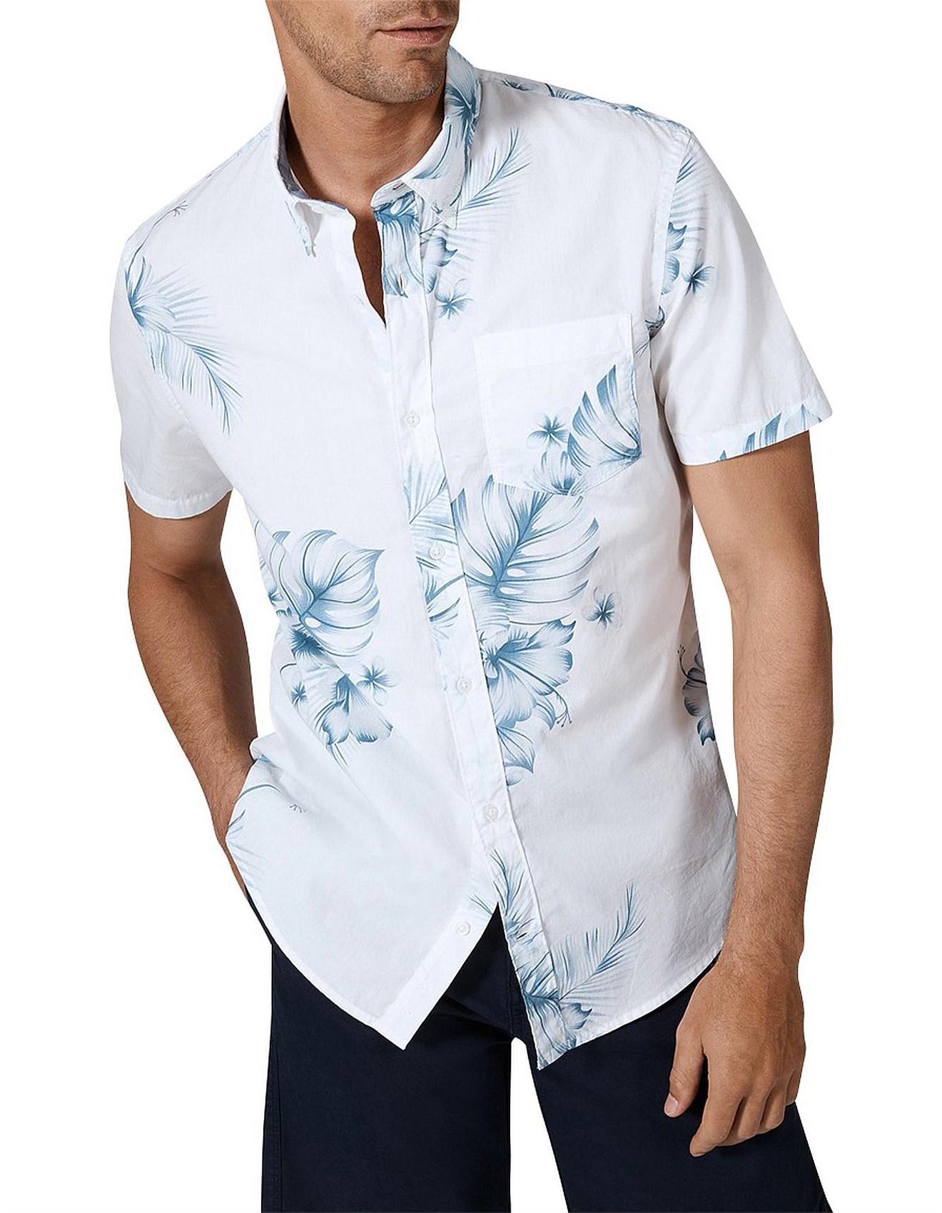 Sale Mens Shirts Men Designer Clothes Sale David Jones Short