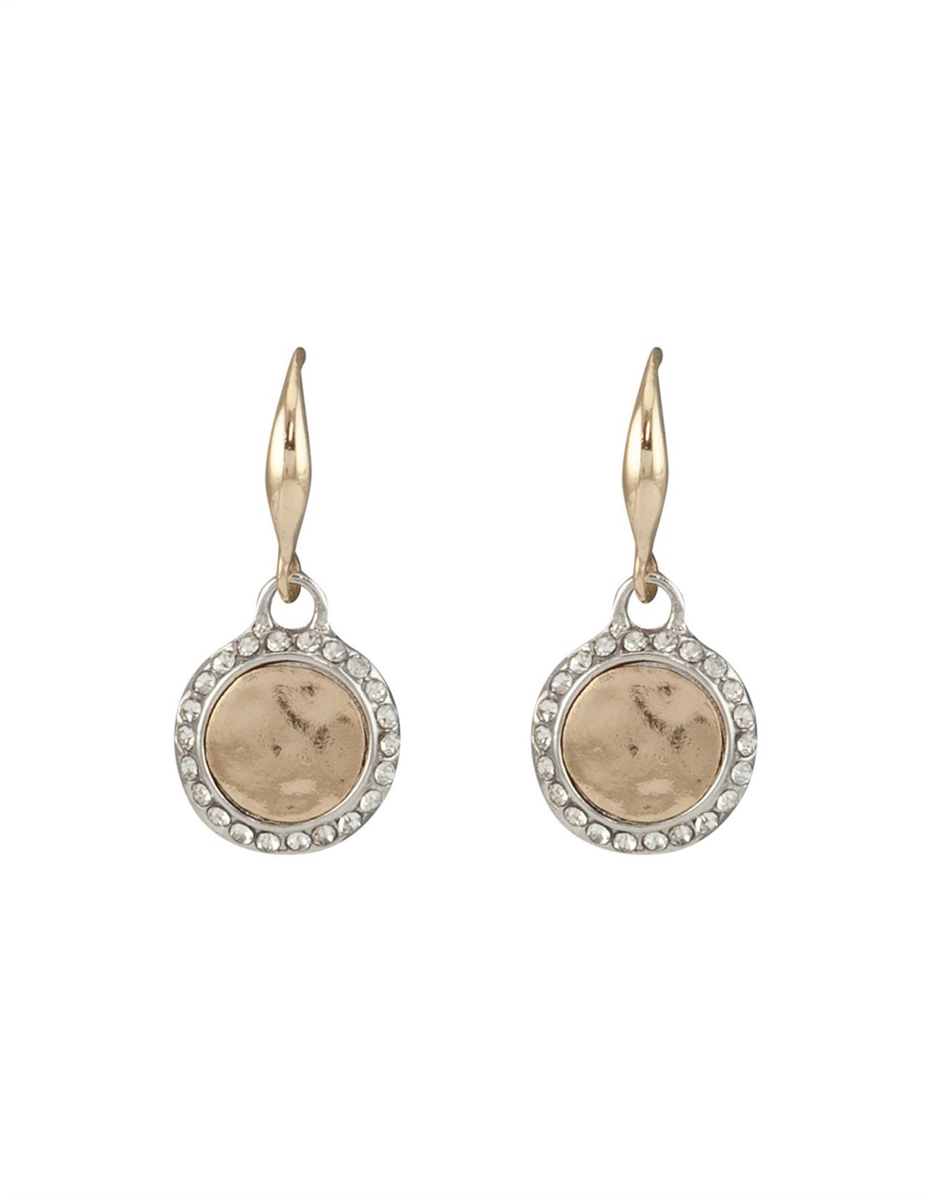 Barcs Jewellery Online Australia David Jones Medalion Earring