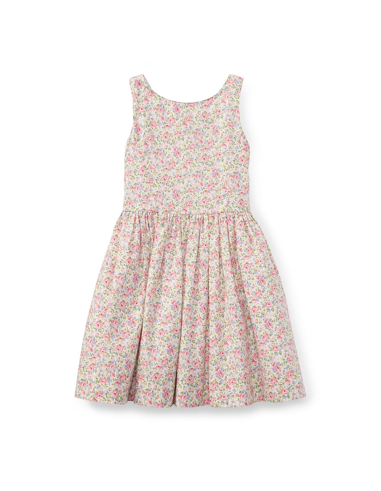d220af8cb9d1 Kids - Floral Cotton Sleeveless Dress(2-7 Years)