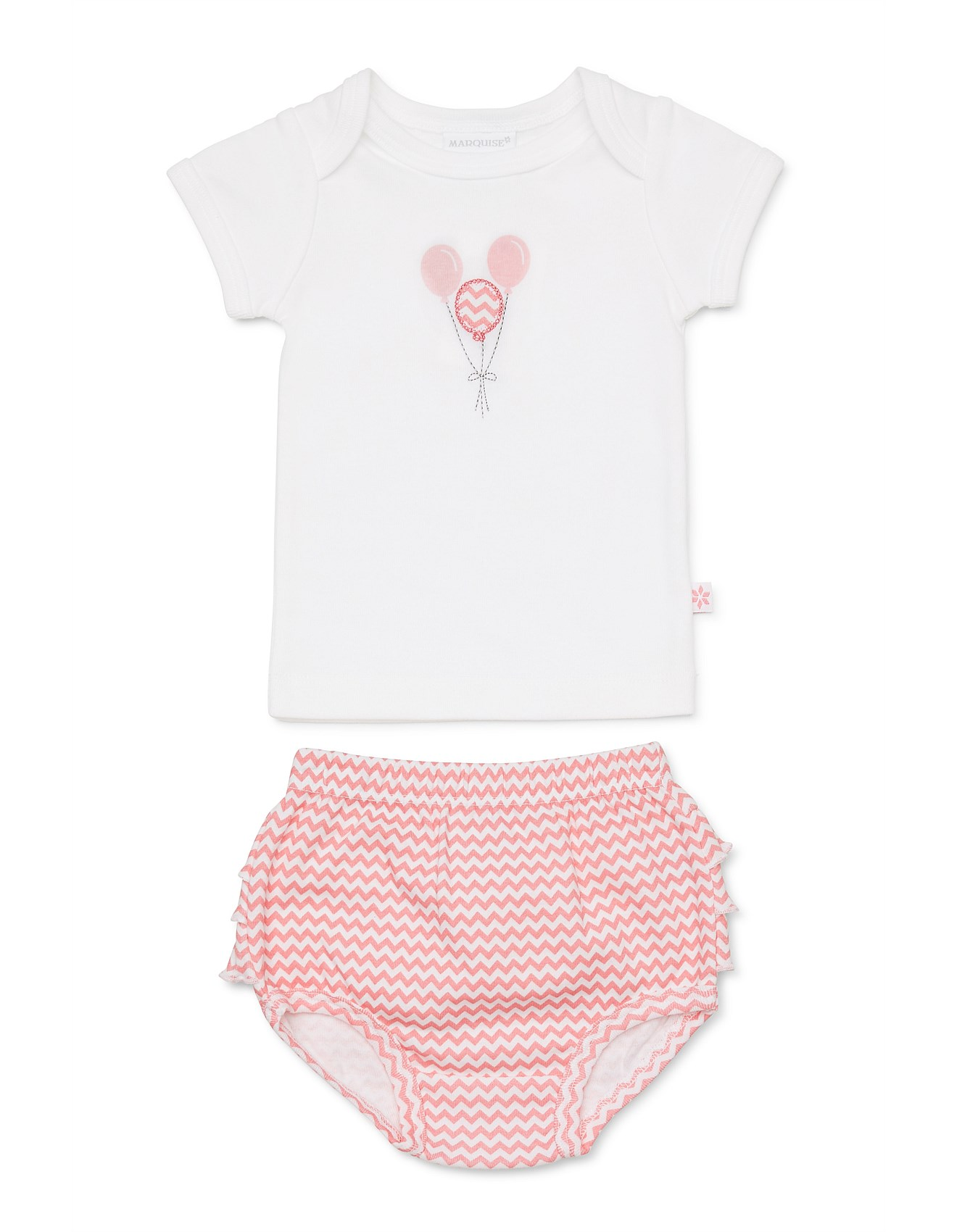 0a3b1baa1 Baby Clothing | Baby Boy & Baby Girl Clothes | David Jones - Essentials  Balloon Tshirt & Bloomer Set(Newborn-1Year)