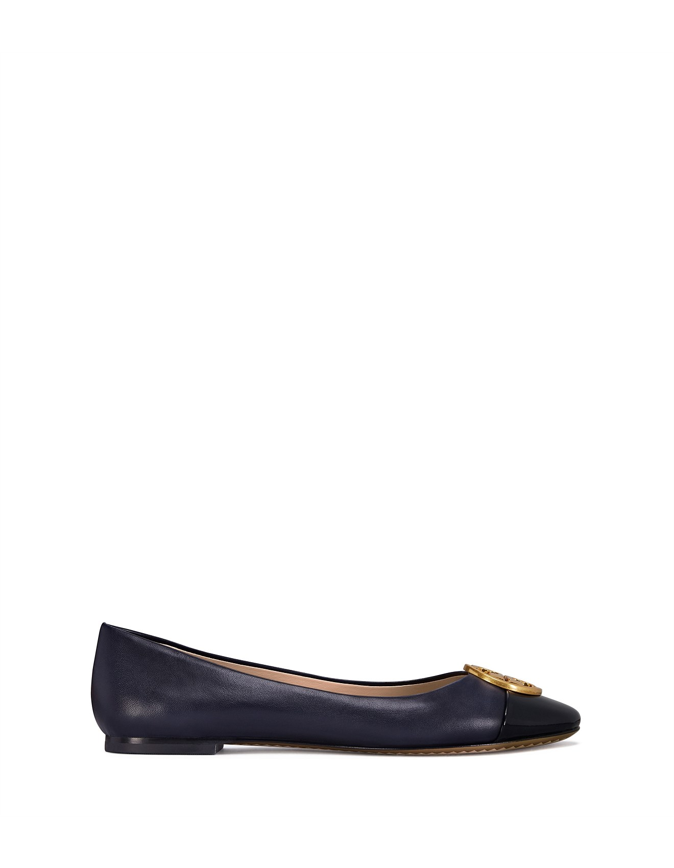 7ade288b4 Shoes - Chelsea Cap-Toe Ballet Nappa Leather Patent Leather