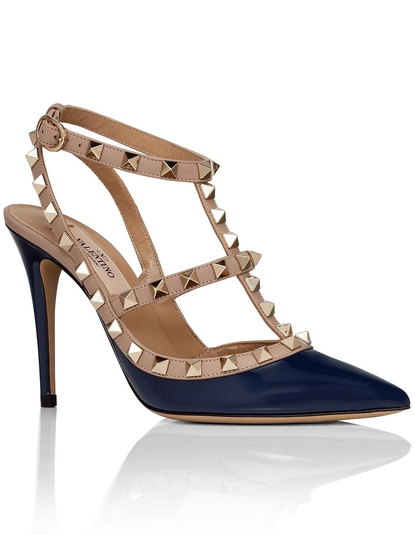 21d1de0ff34 Shoes - ROCKSTUD 100 PATENT