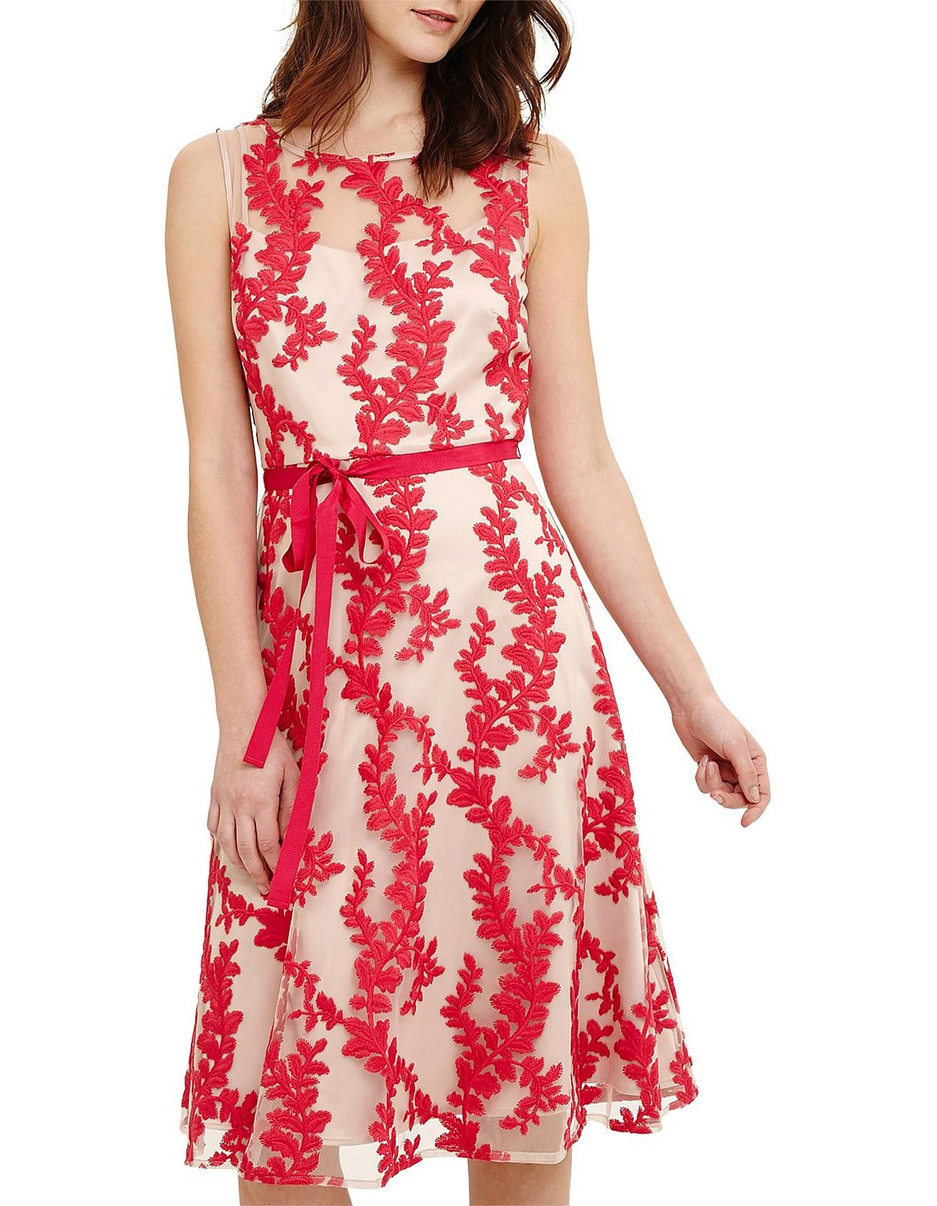 Adele Embroidered Dress