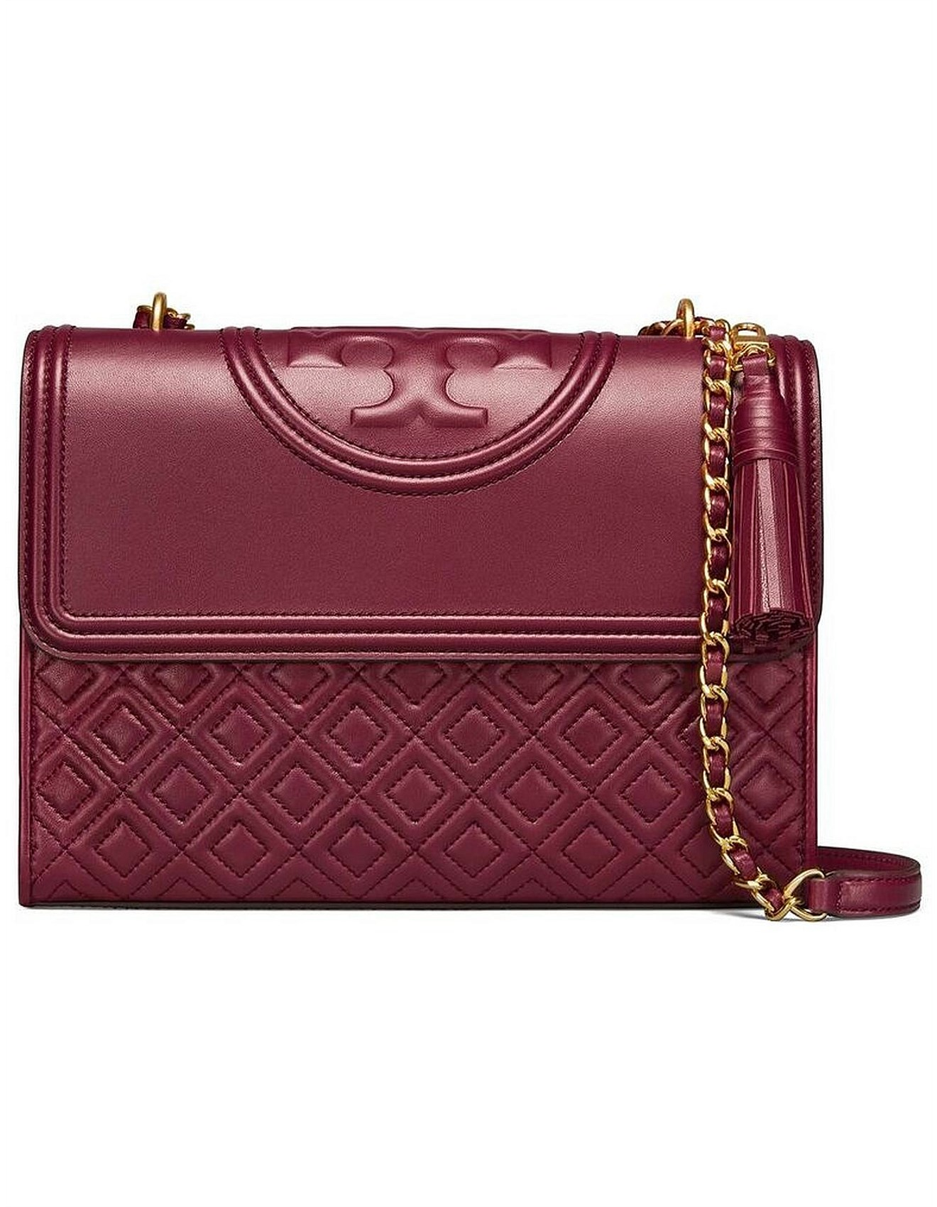 7fcda3607ce Tory Burch | Buy Tory Burch Perfume Australia | David Jones - FLEMING  CONVERTIBLE SHOULDER BAG