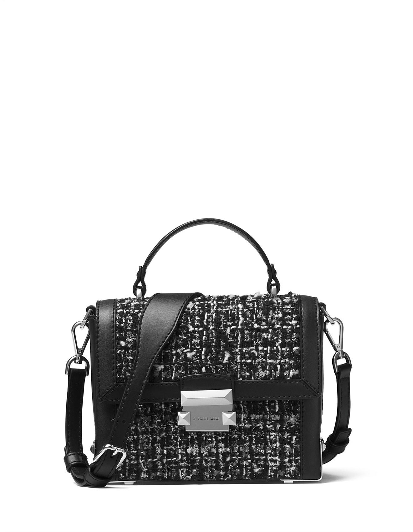 e52f93c8aa2a7 Jayne Small Pebbled Leather Trunk Bag. 1  2  3  4. Zoom. Michael Kors