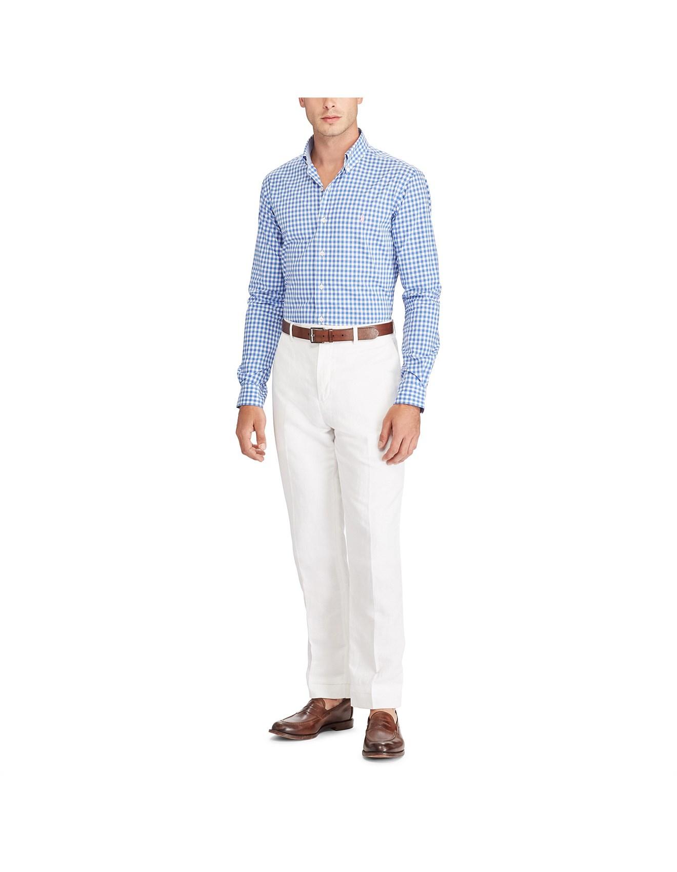 25d58c656d10 Mens Slim Fit Cotton Poplin Shirt. 1  2  3  4. Zoom. Polo Ralph Lauren