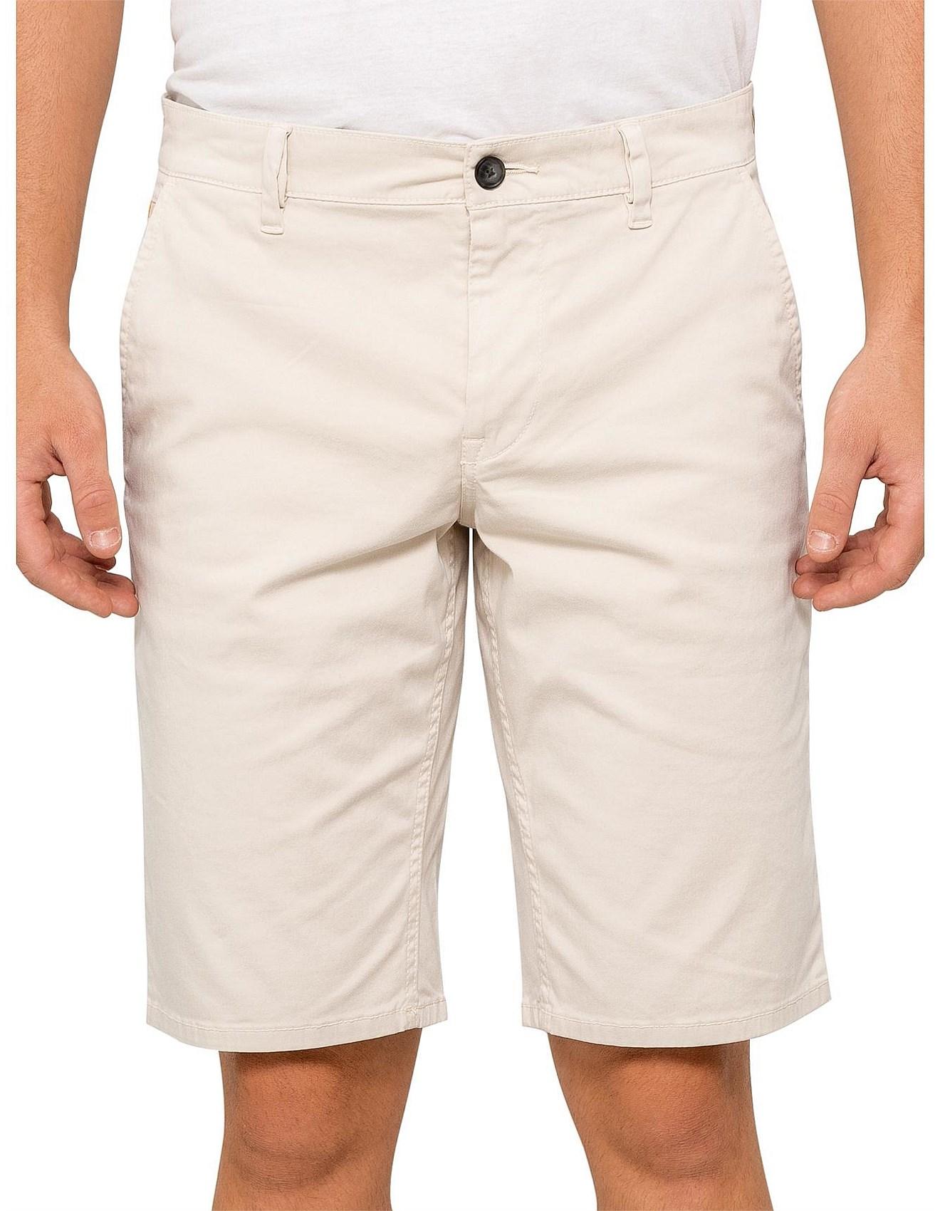 65d8b11e BOSS Orange - Schino Slim cotton shorts