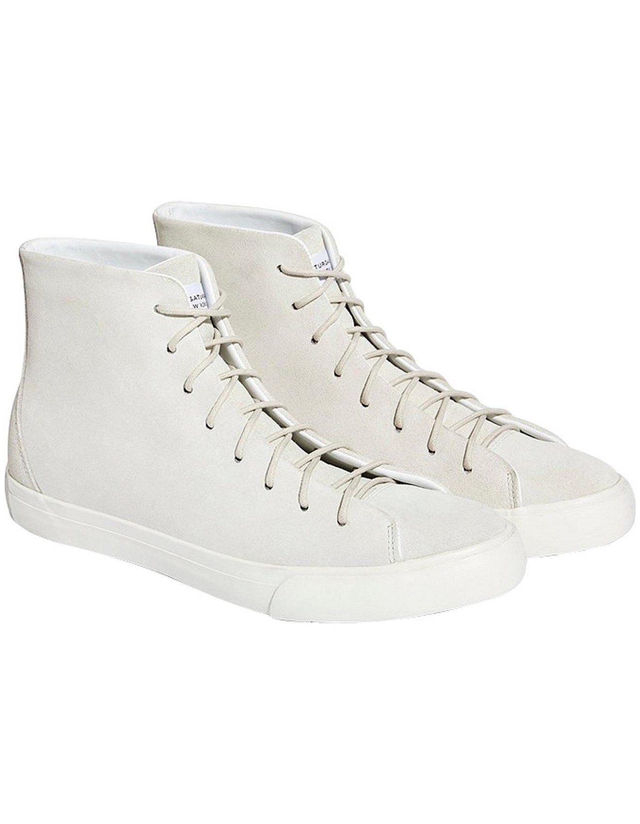 93049b1eb9c Mike High Suede Sneaker
