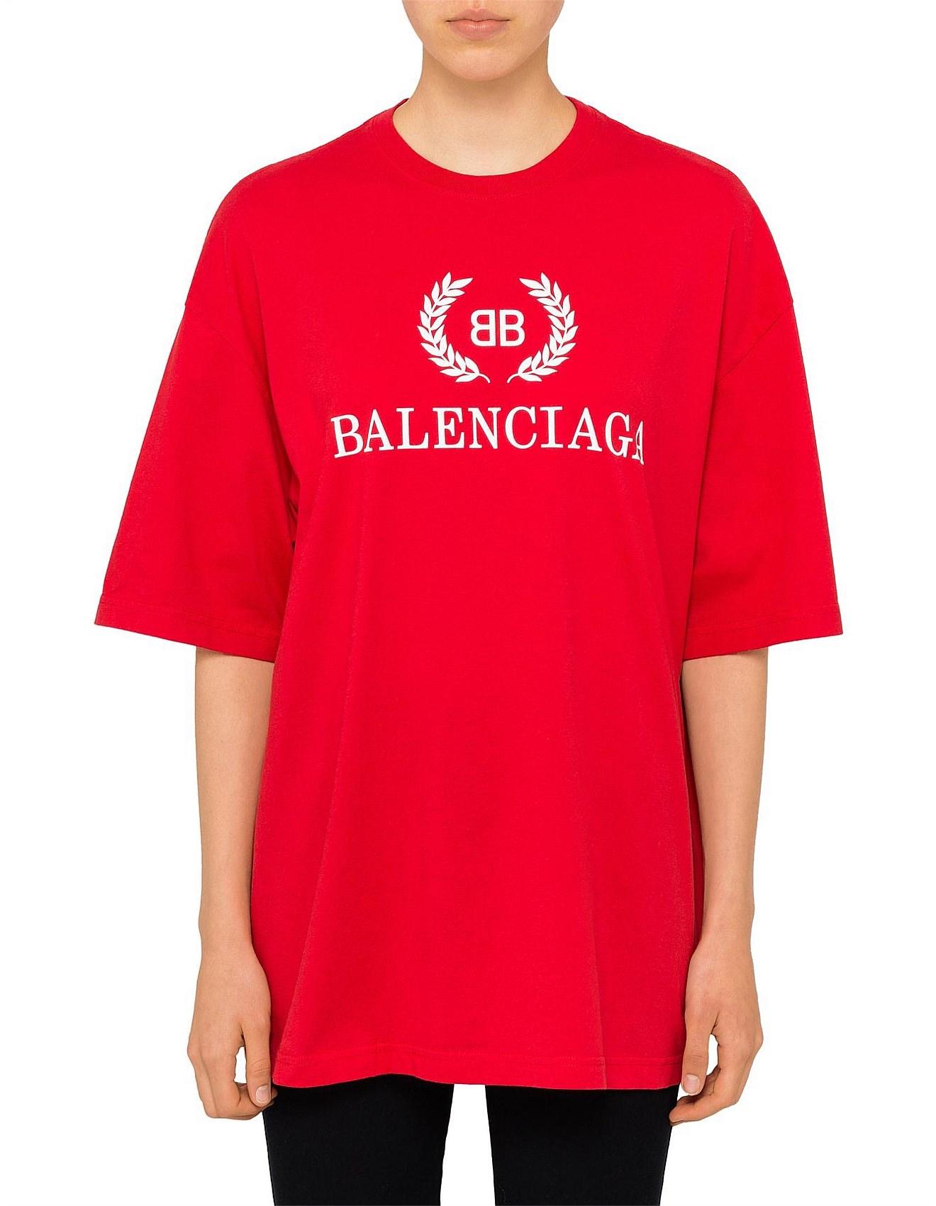 aa39bac90d9 BB Logo Oversized Logo T-Shirt