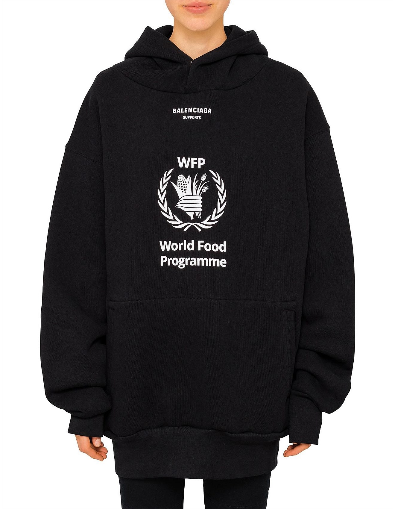 Balenciaga Buy Balenciaga Shoes Bags More David Jones World Food Programme Hoodie