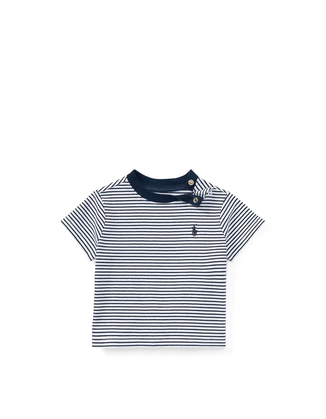 c278c6b98 Striped Cotton Jersey T-Shirt(3-24 Months). 1  2. Zoom. Polo Ralph Lauren