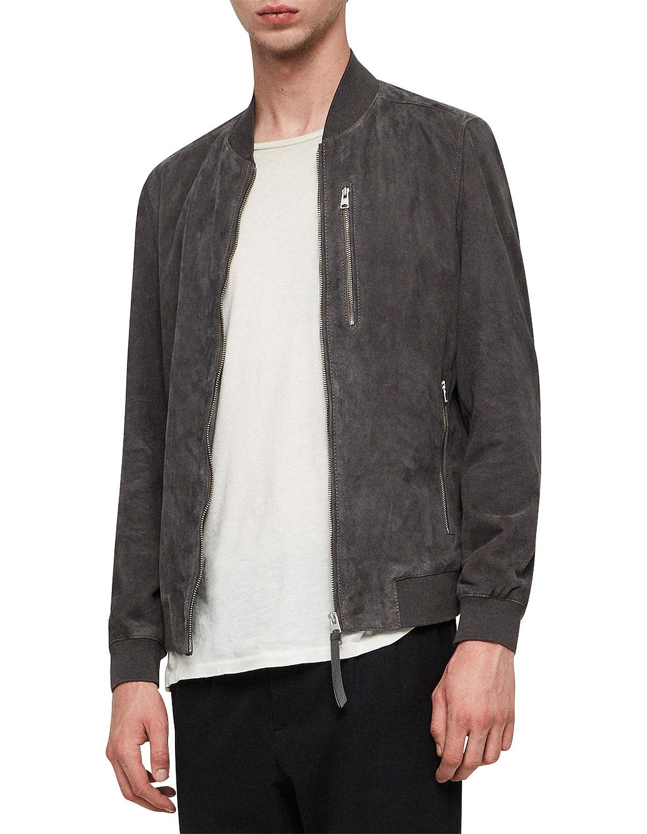4f5142090 Kemble Suede Bomber