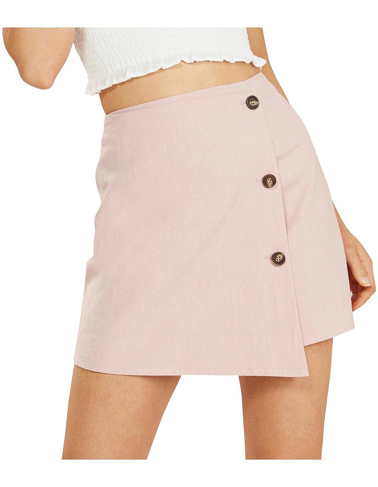 67547f2811 Skirts For Women   Ladies Maxi, Pencil & Denim Skirts   David Jones - FLOSS MINI  STEP HEM SKIRT