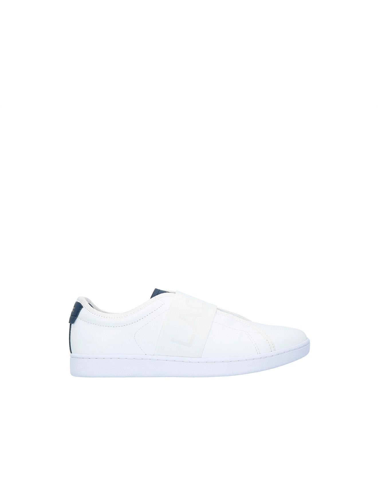 6488de4d3 Lacoste | Buy Lacoste Shoes & Clothing Online | David Jones - Carnaby Evo  Slip 318 1 Spw Sneaker