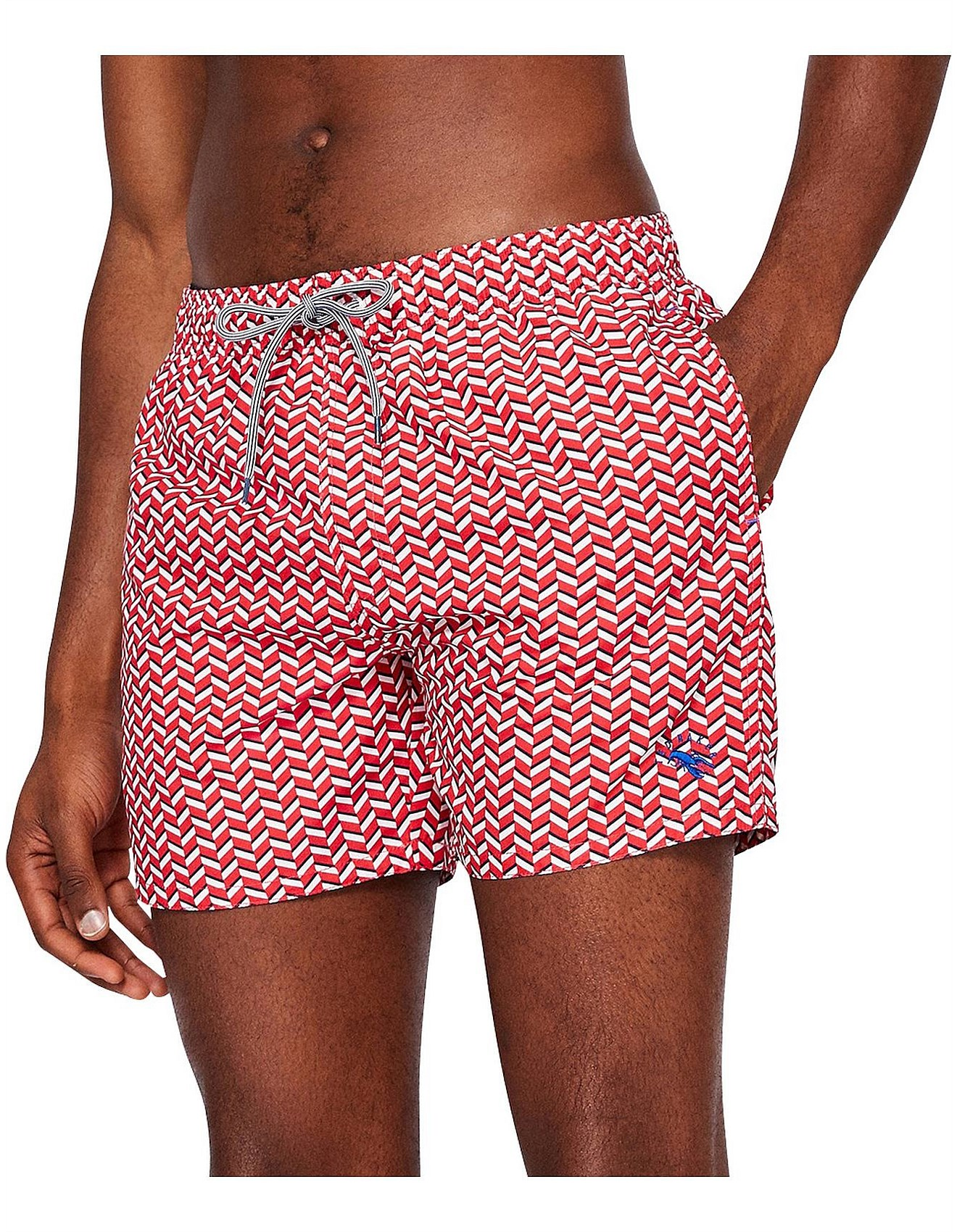 60abe02979 Men's Swimwear & Boardies Sale | Men's Swimwear Australia | David Jones - Caven  Geo Print Swimshort