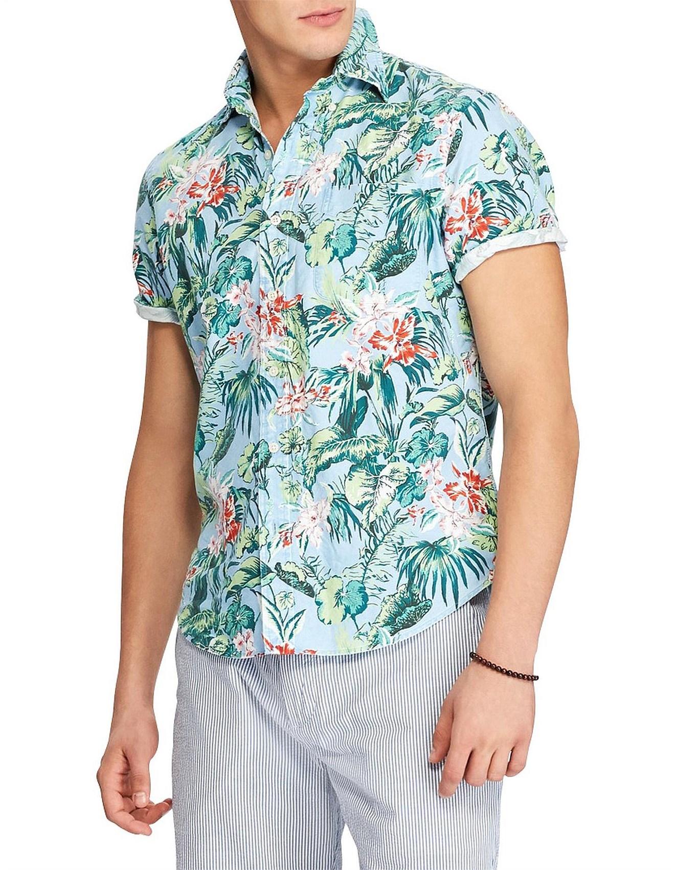 b7c5eec4 Polo Ralph Lauren | Buy Polo Ralph Lauren Online | David Jones - Men's Classic  Fit Hawaiian Shirt