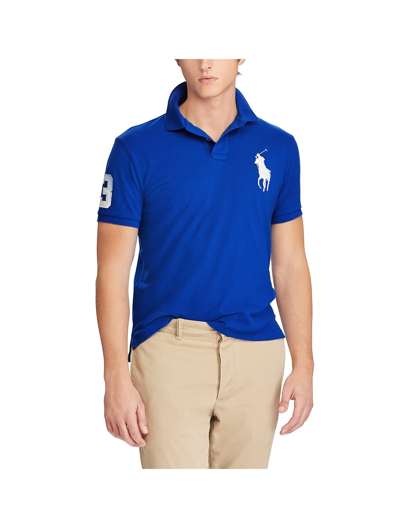 ddee084916cd Men s Custom Slim Fit Mesh Polo