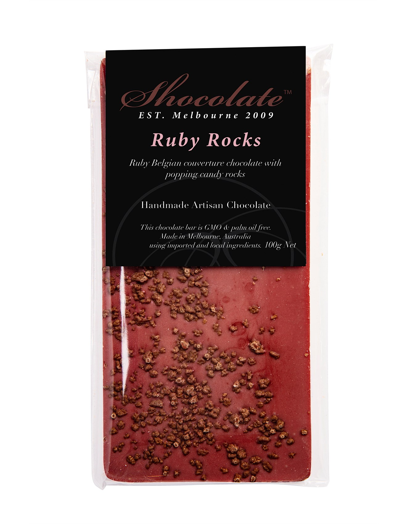 Ruby Rocks Bar 100G