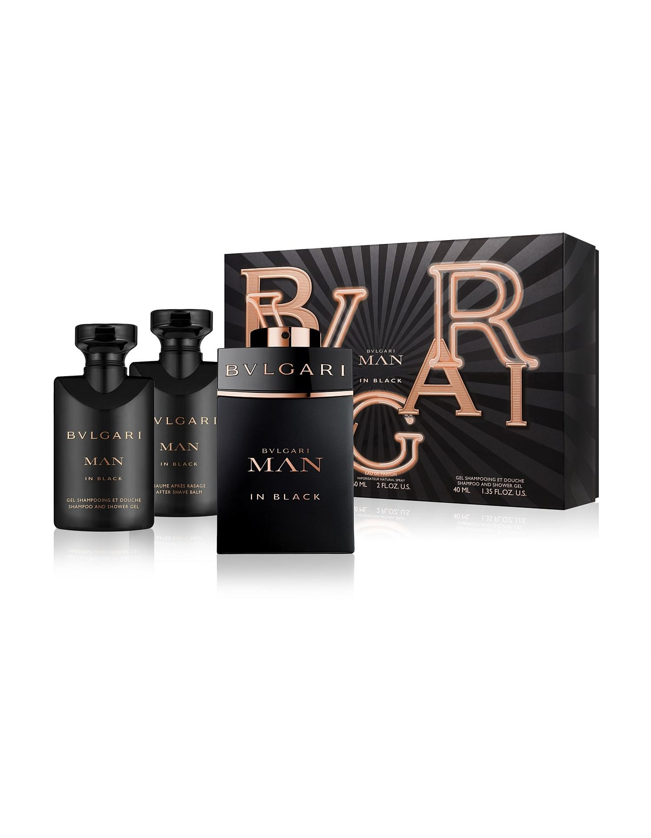 32d35e17746a Mens Aftershave - Man In Black EDP 60ml Gift Set