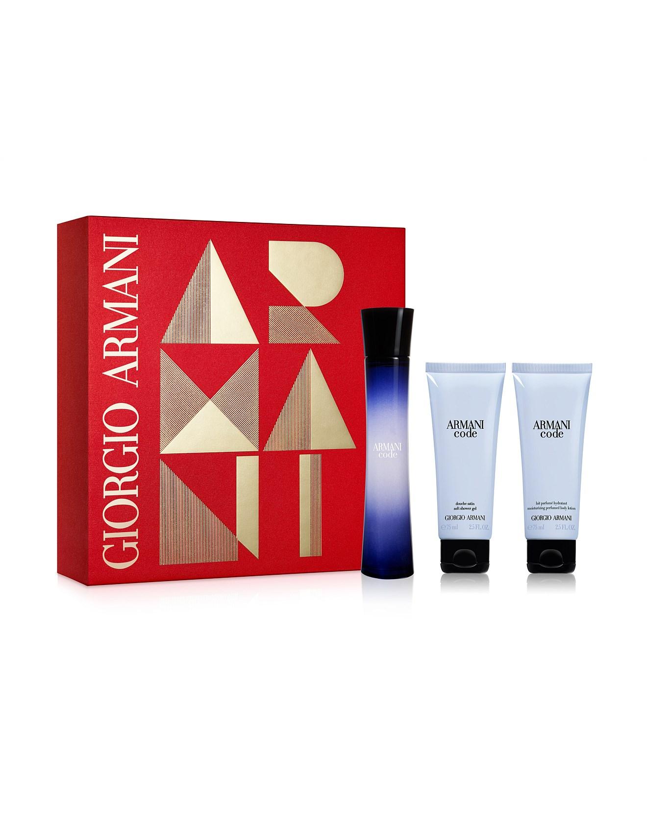 71a439cf6da Armani Code Femme EDP 75ml Gift Set