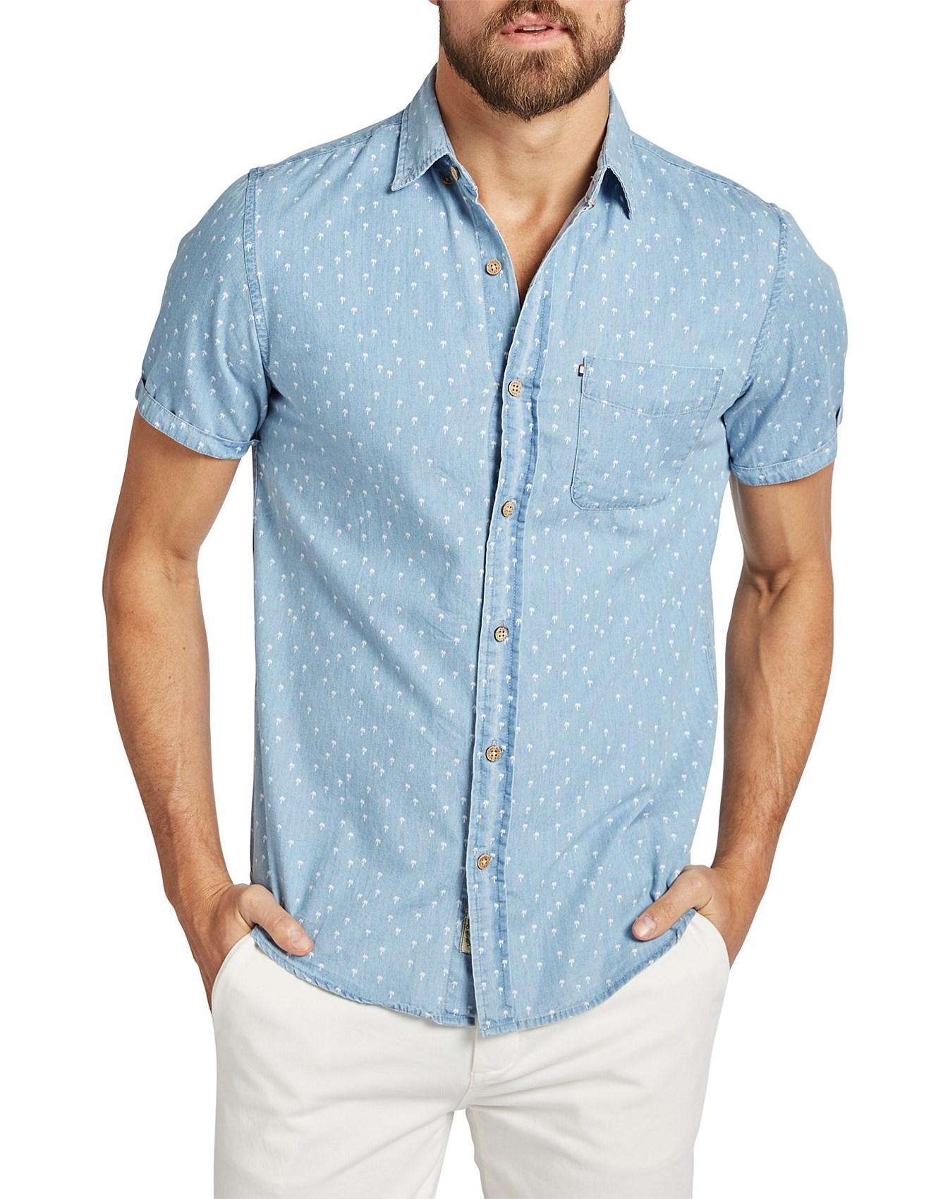 Sale Mens Shirts Men Designer Clothes Sale David Jones Palms